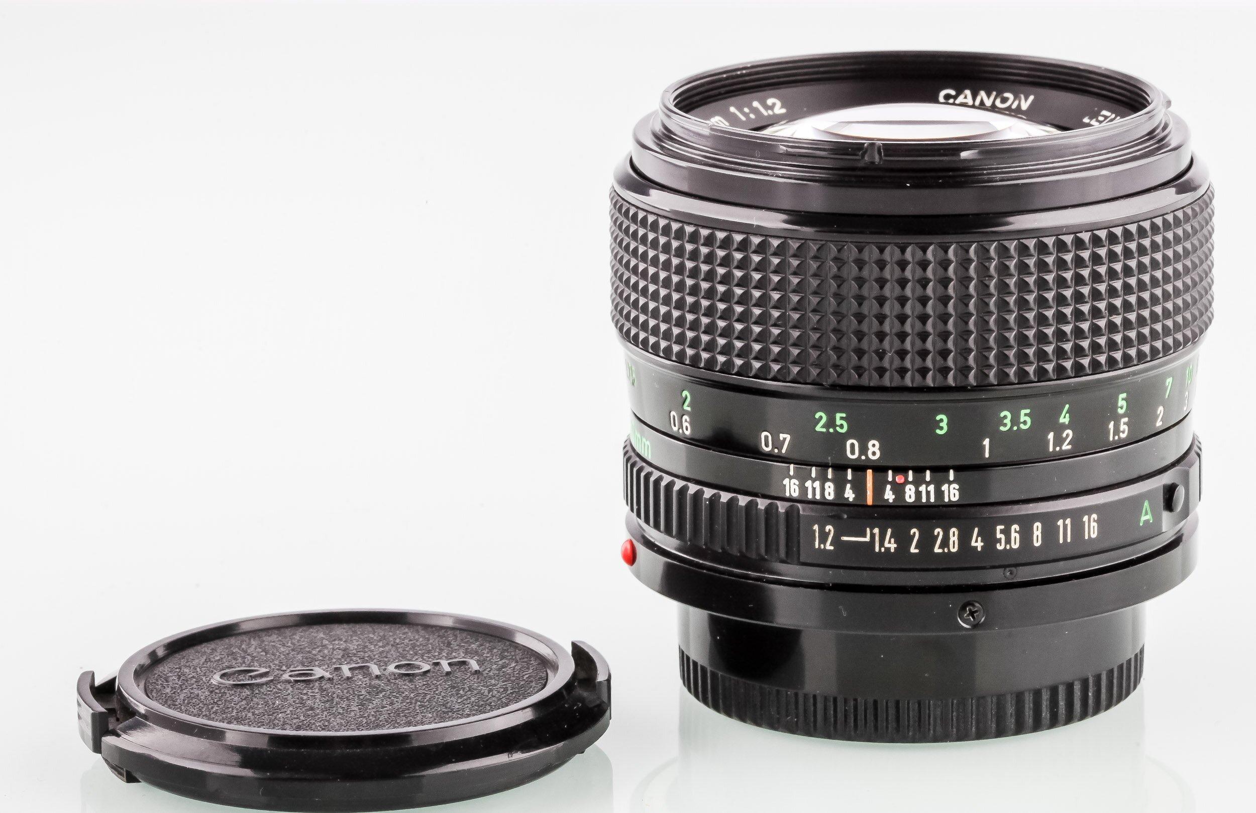 Canon FD 50mm 1,2
