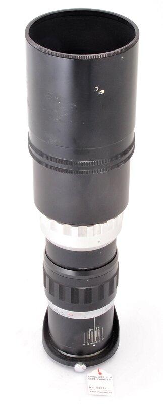 Leica 400mm 1:5 Telyt M39 Visoflex TELE