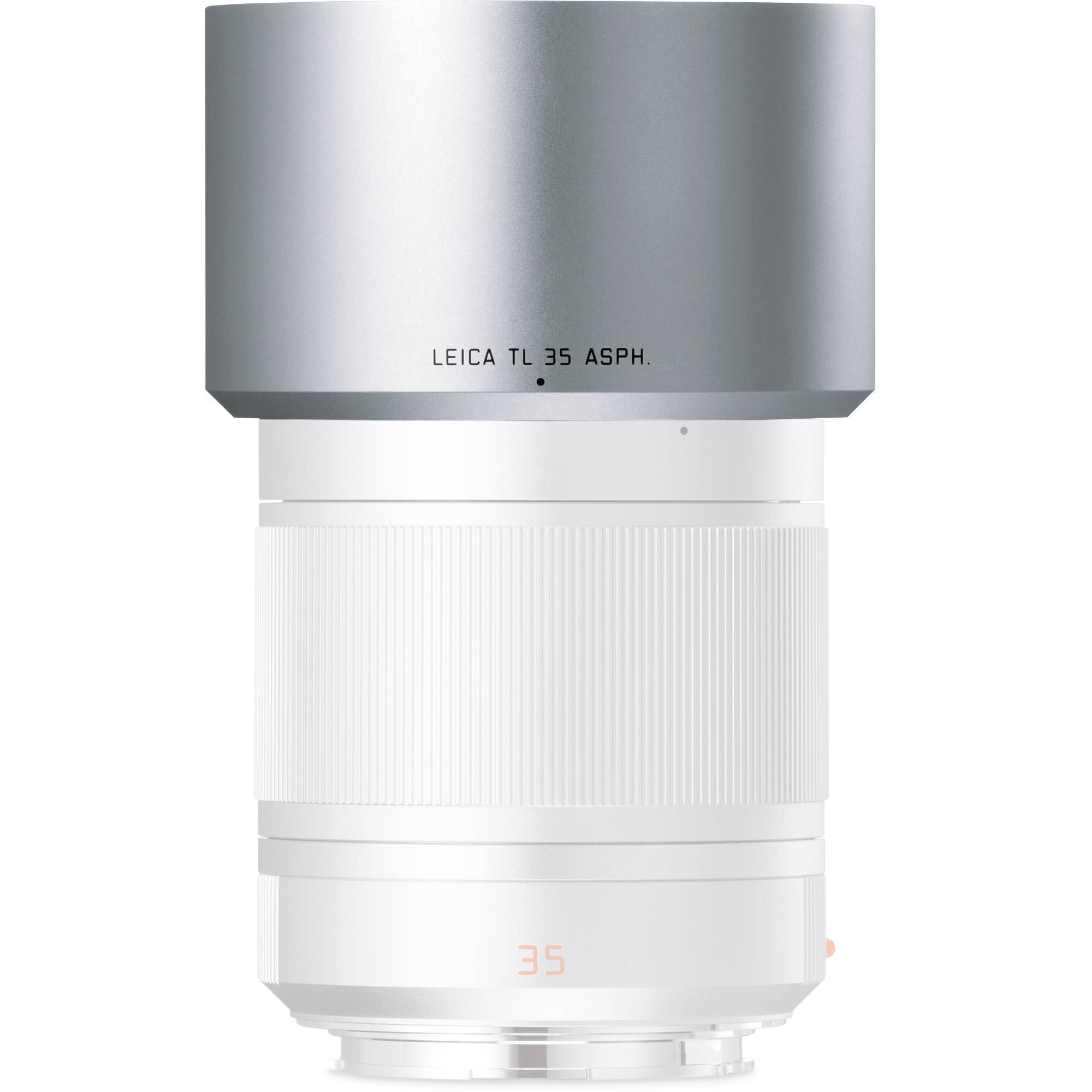 LEICA Gegenlichtblende für TL 35mm und 60mm ASPH, silbern eloxiert 12430