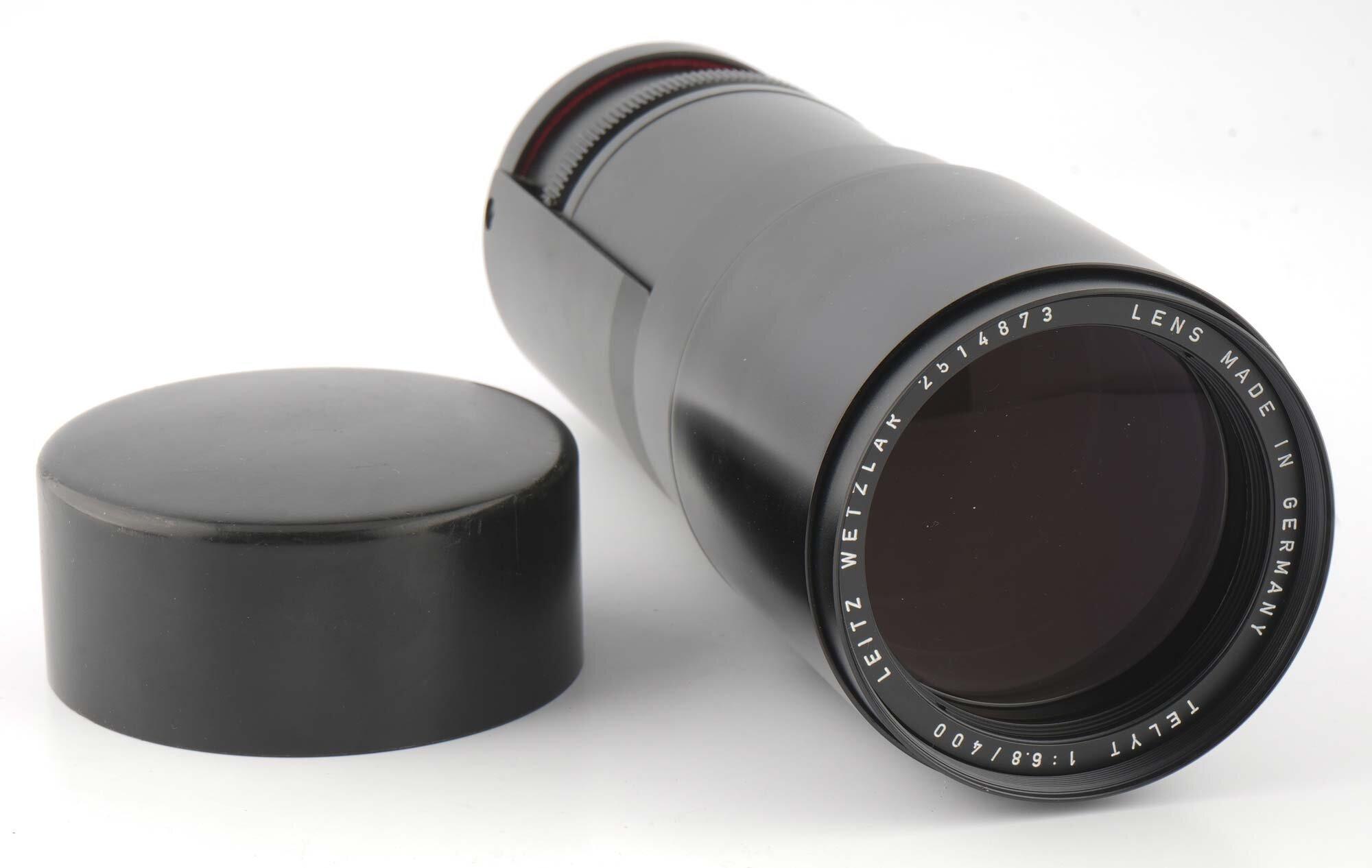 Leica R Telyt 400mm 6,8 lens-head
