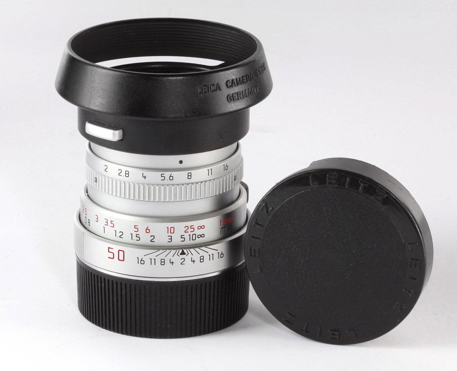 Leica Summicron-M 2/50mm E39 silber