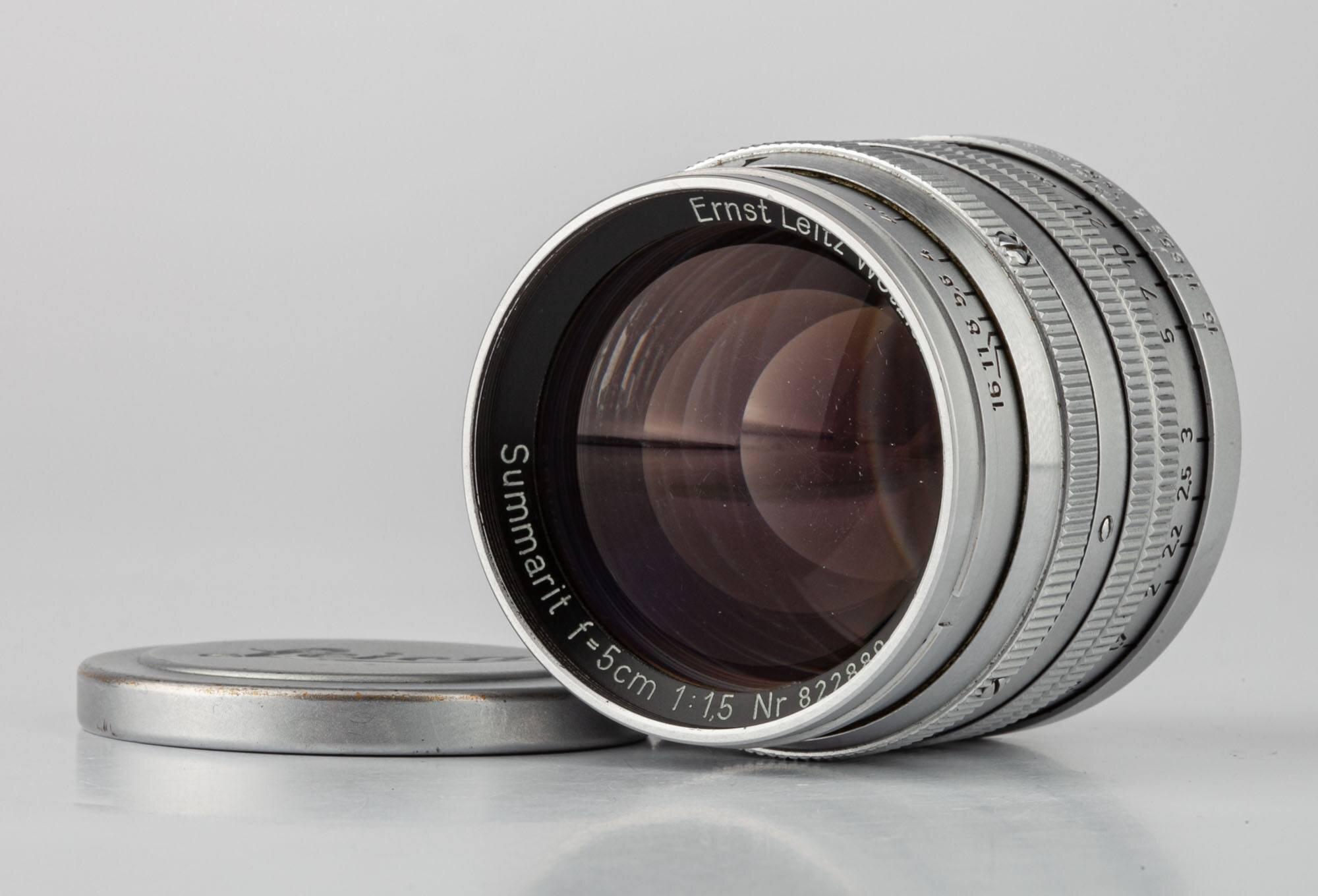 Leica M Summarit 1,5/5cm chrom M39 Germany