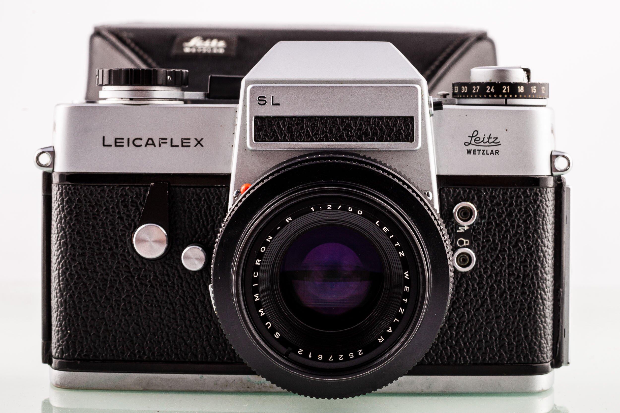 Leicaflex SL body + Summicron-R 2/50mm