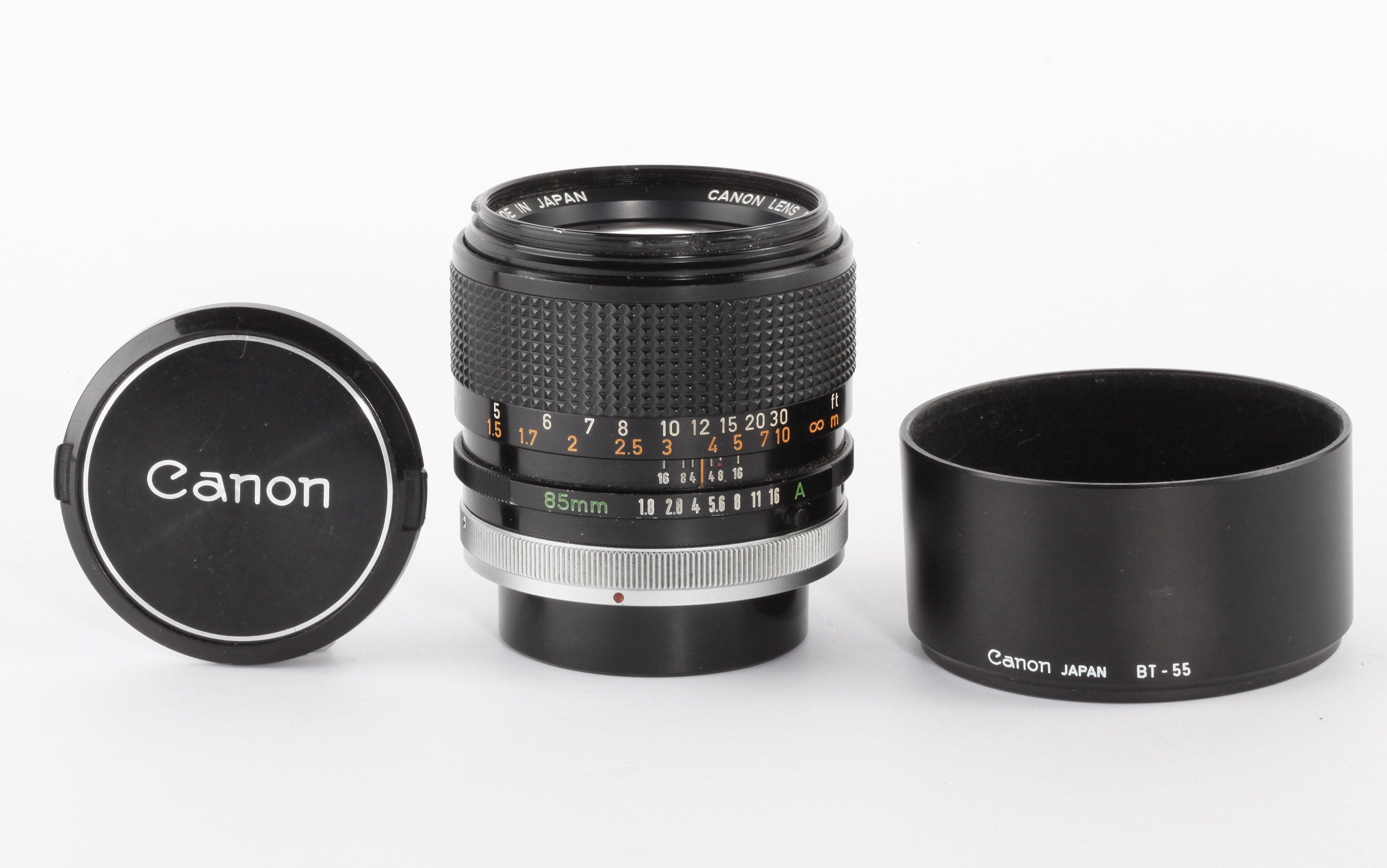 Canon FD 85mm 1,8 SSC