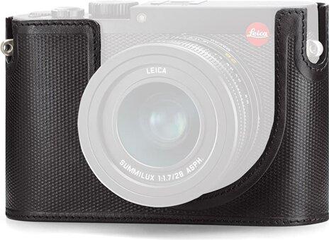LEICA Protektor Leica Q (Typ 116), Leder, schwarz 19501