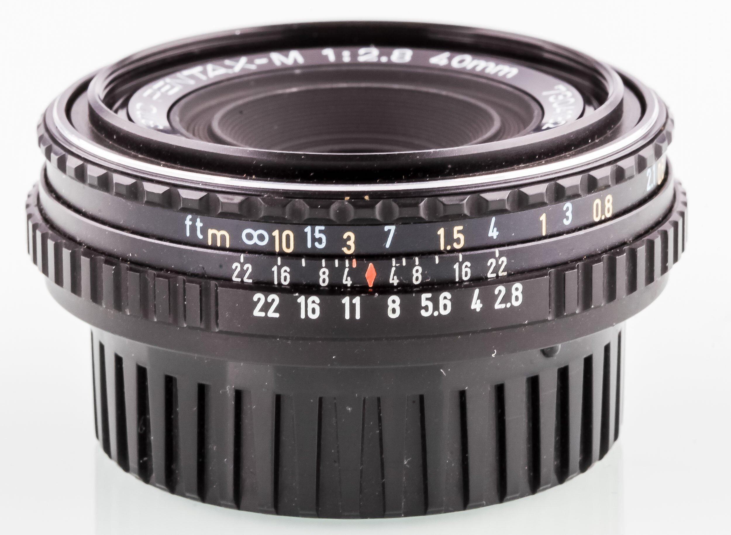SMC Pentax-M 2,8/40mm PENCAKE