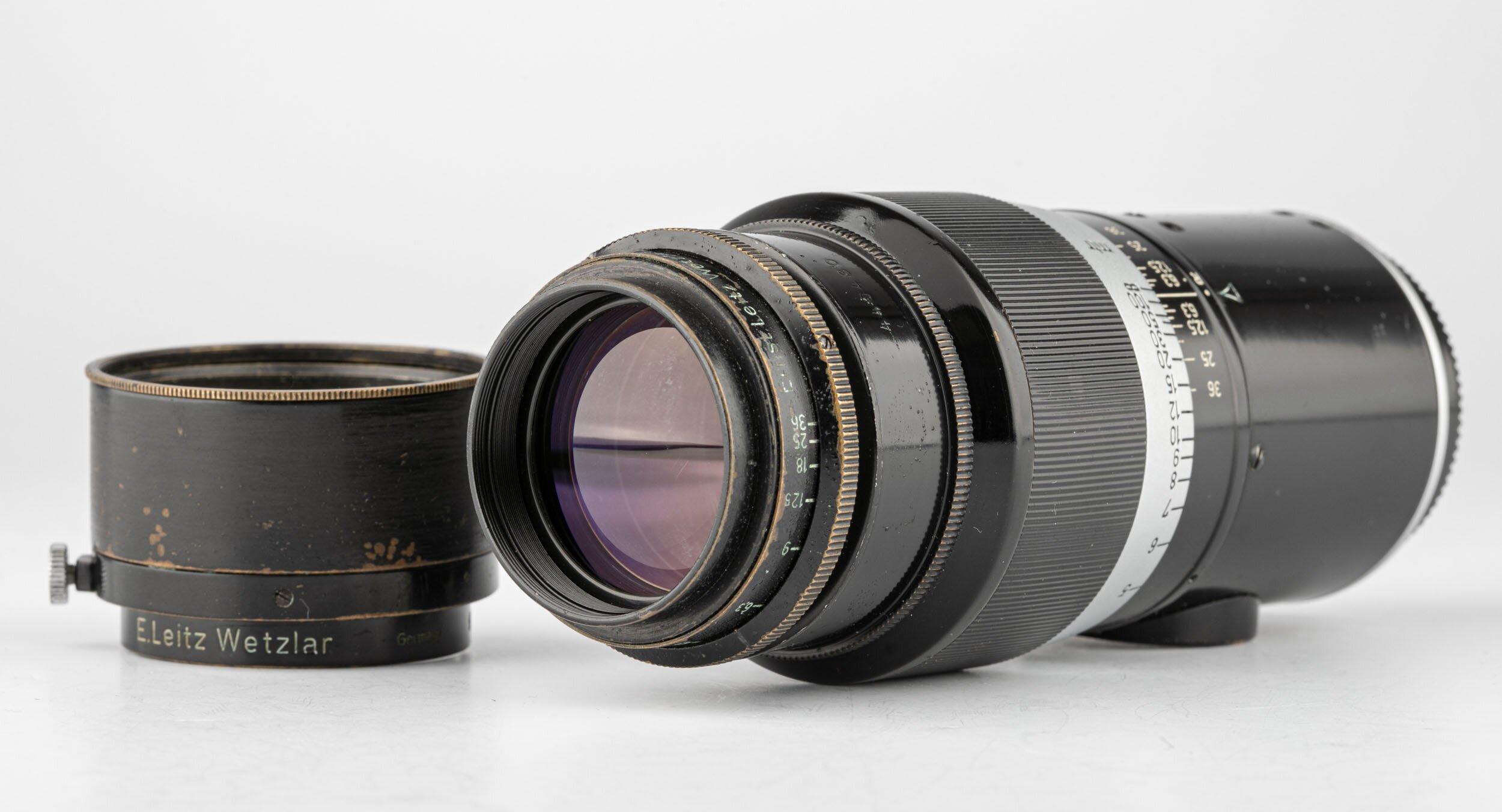 Leica Hektor 13,5cm 1:4,5 M39