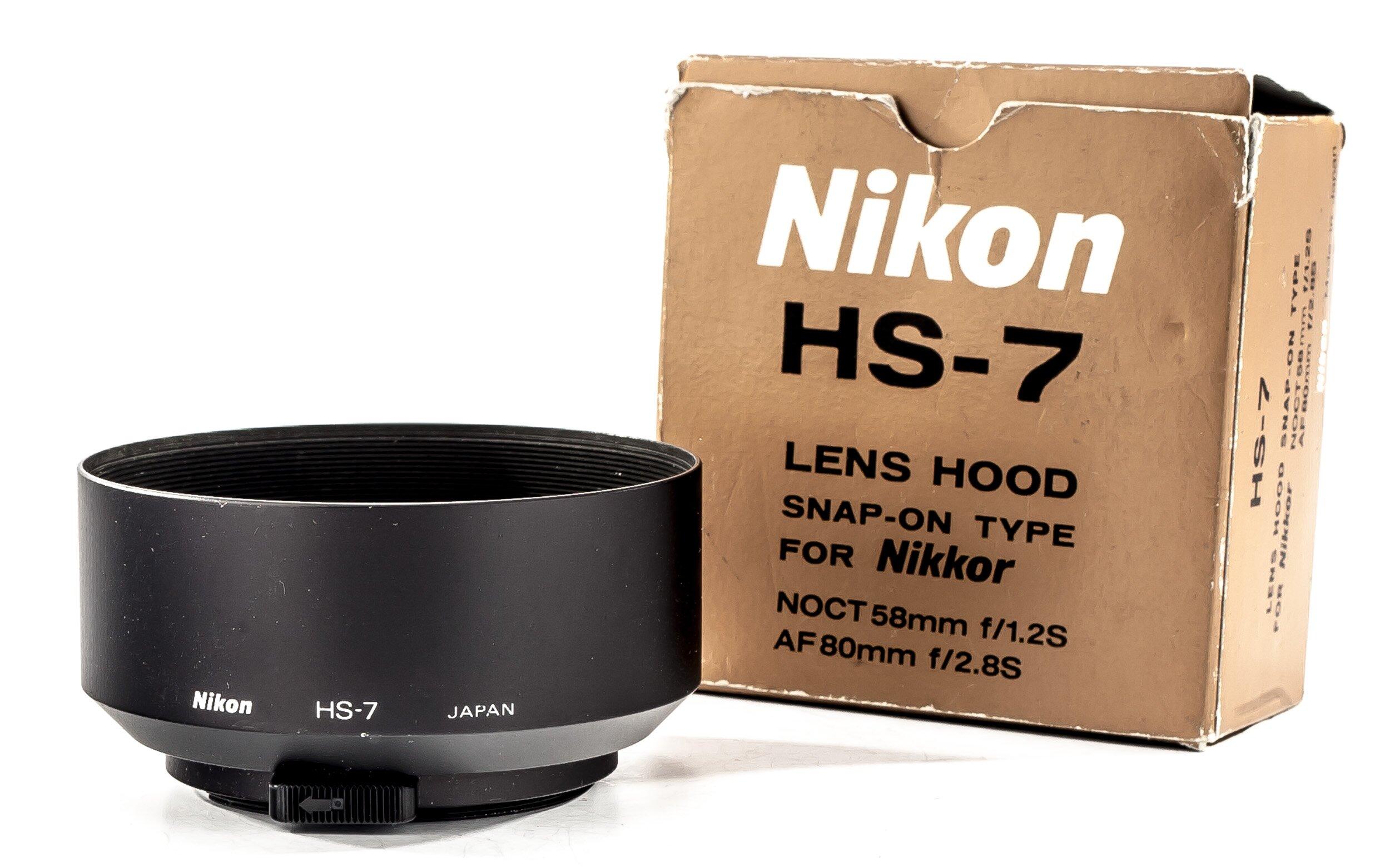 Nikon Gegenlichtblende HS-7 f. Noct 58mm 1,2 Neuware !