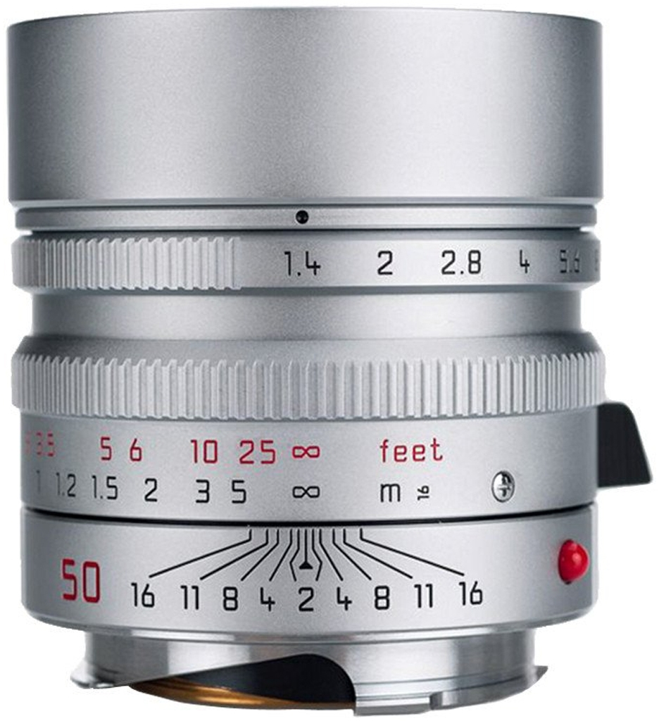 LEICA SUMMILUX-M 1.4/50 mm ASPH., silbern verchromt 11892