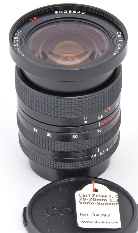 Carl Zeiss f. Contax RTS 28-70mm 1:3,5-4,5 Vario-Sonnar T*