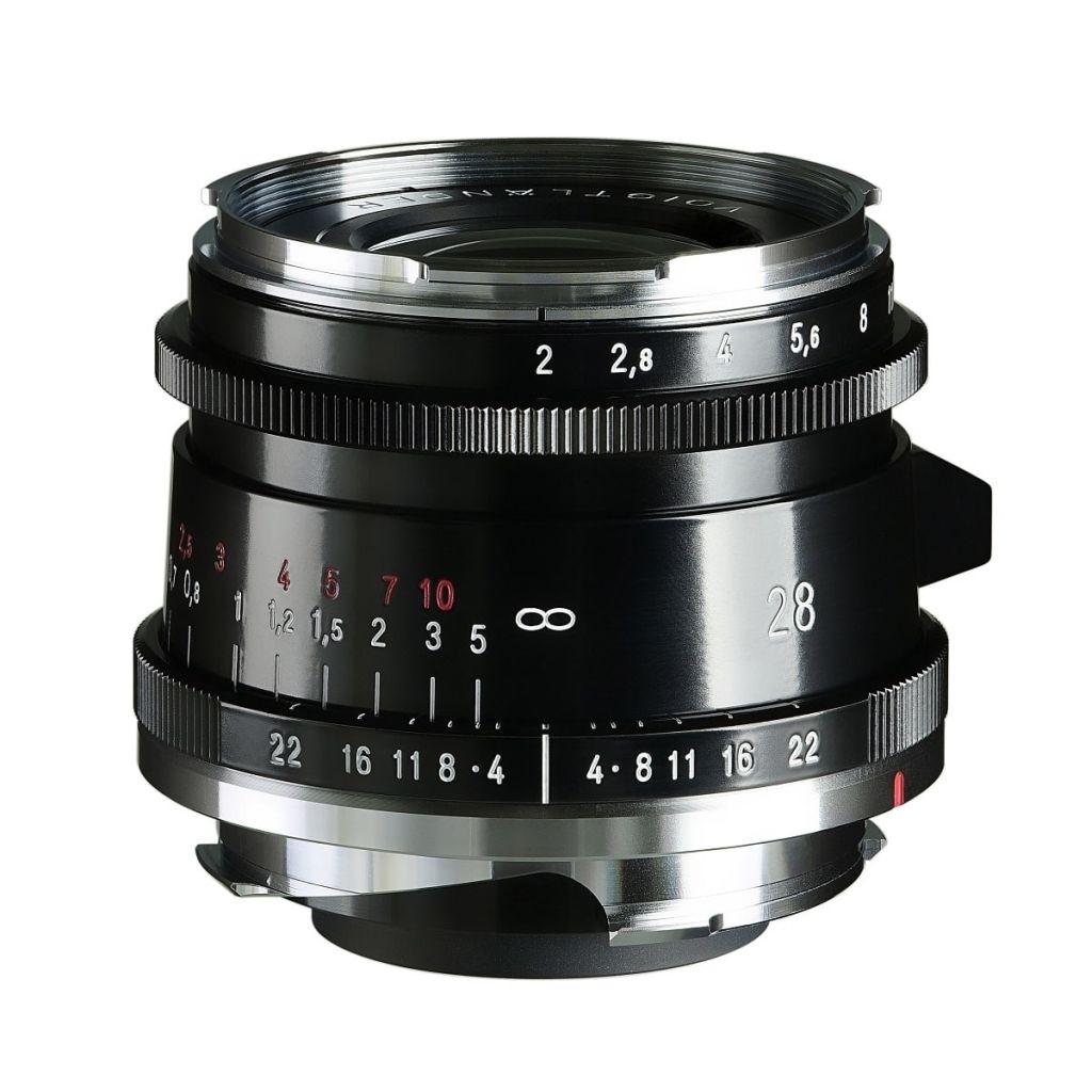 Voigtländer VM 28mm 1:2,0 Ultron asphärisch Type II Leica M schwarz
