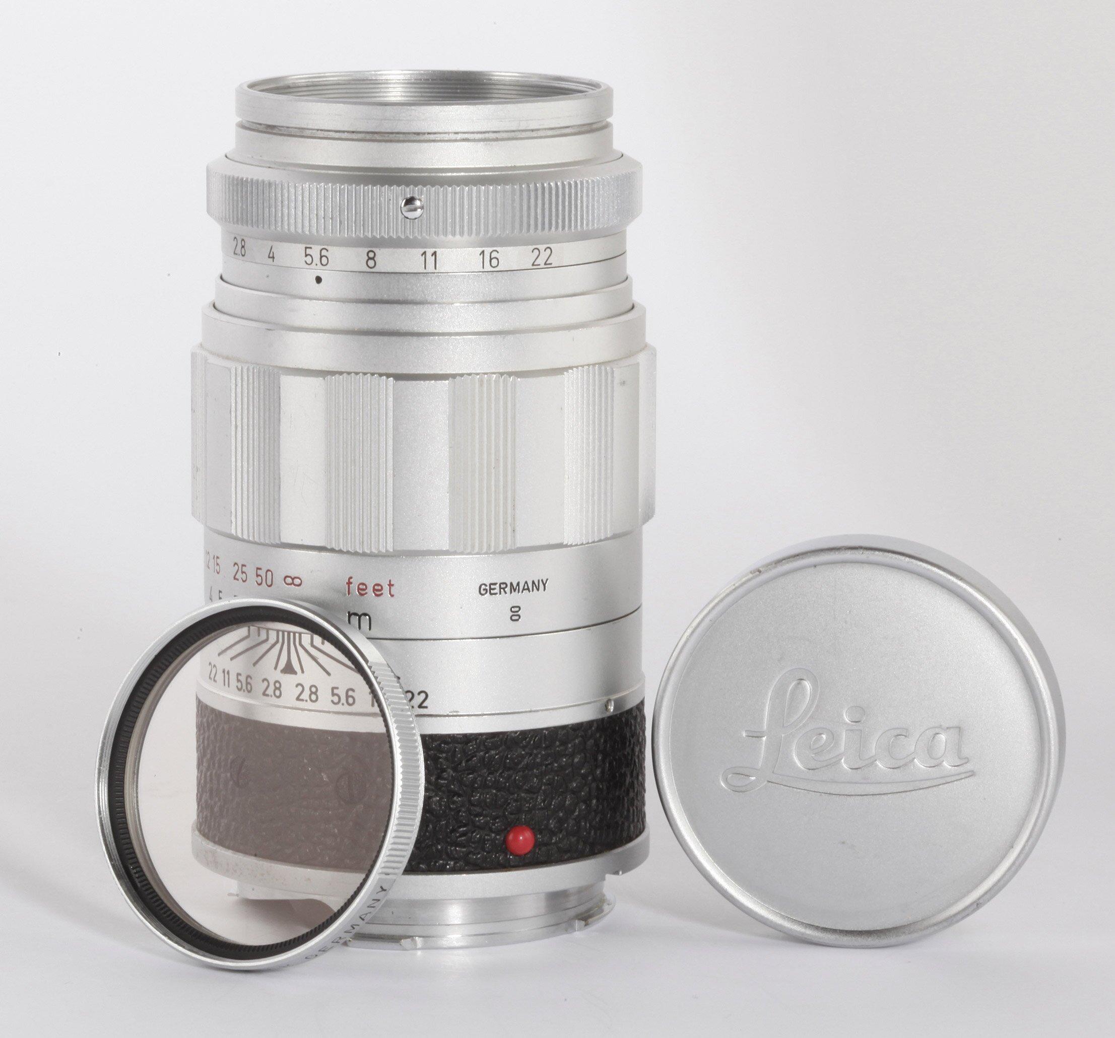 Leica Leitz Elmarit M 2,8/90mm chrom