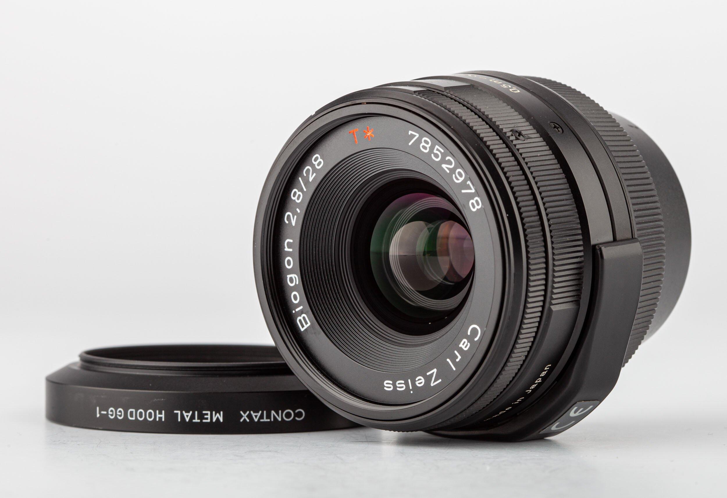 Carl Zeiss Contax G Planar 2,8/28mm T* schwarz