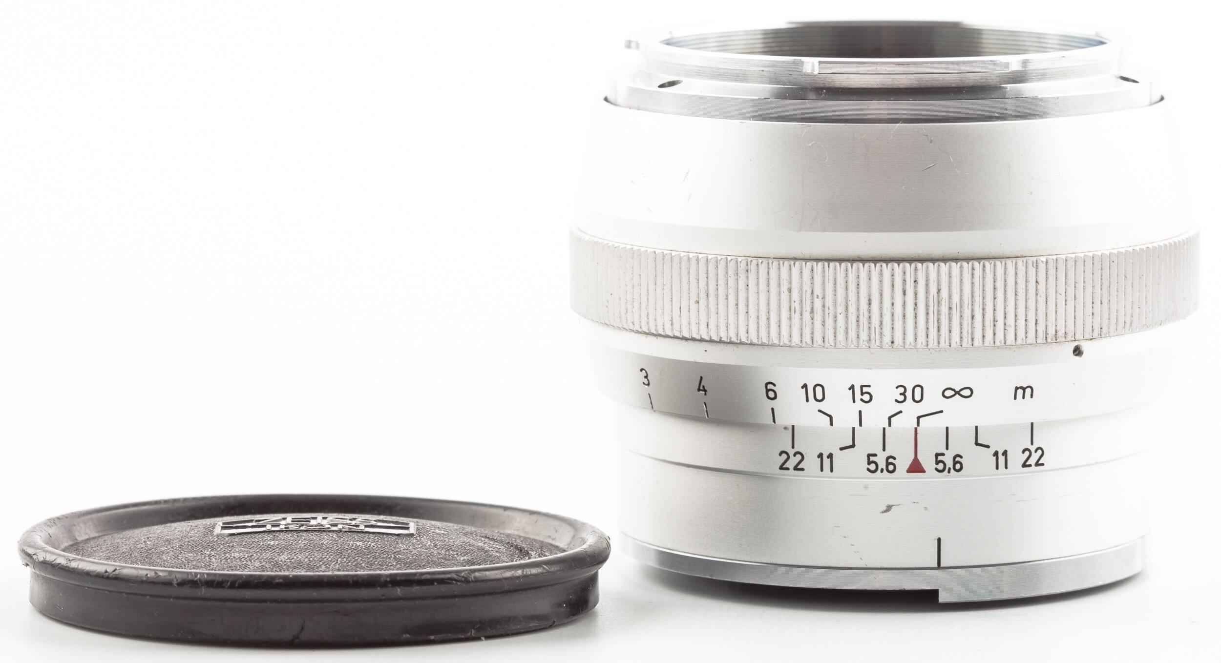 Carl Zeiss Sonnar 2/85mm Contarex chrome