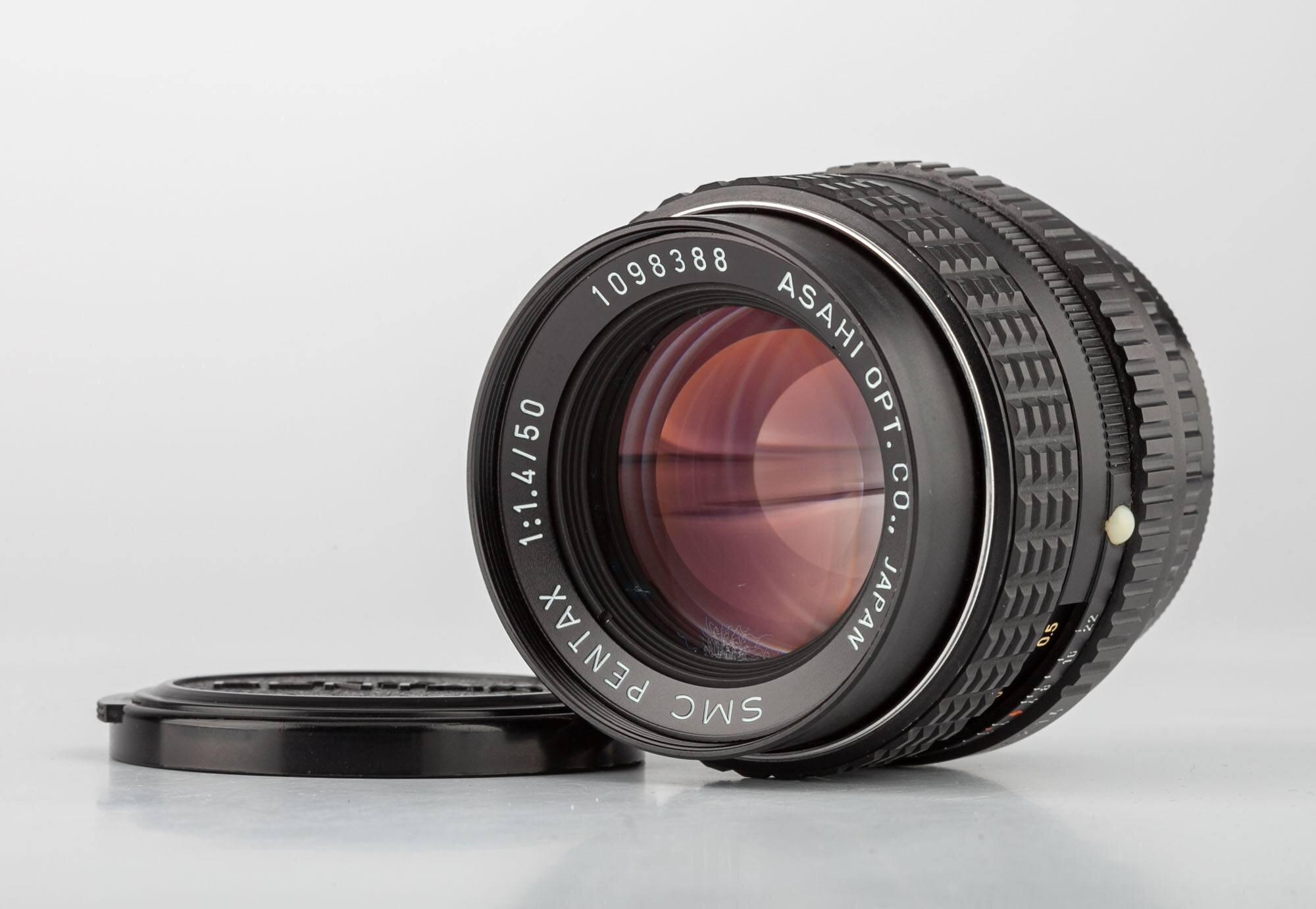 SMC Pentax 1,4/50mm PK Bajonett
