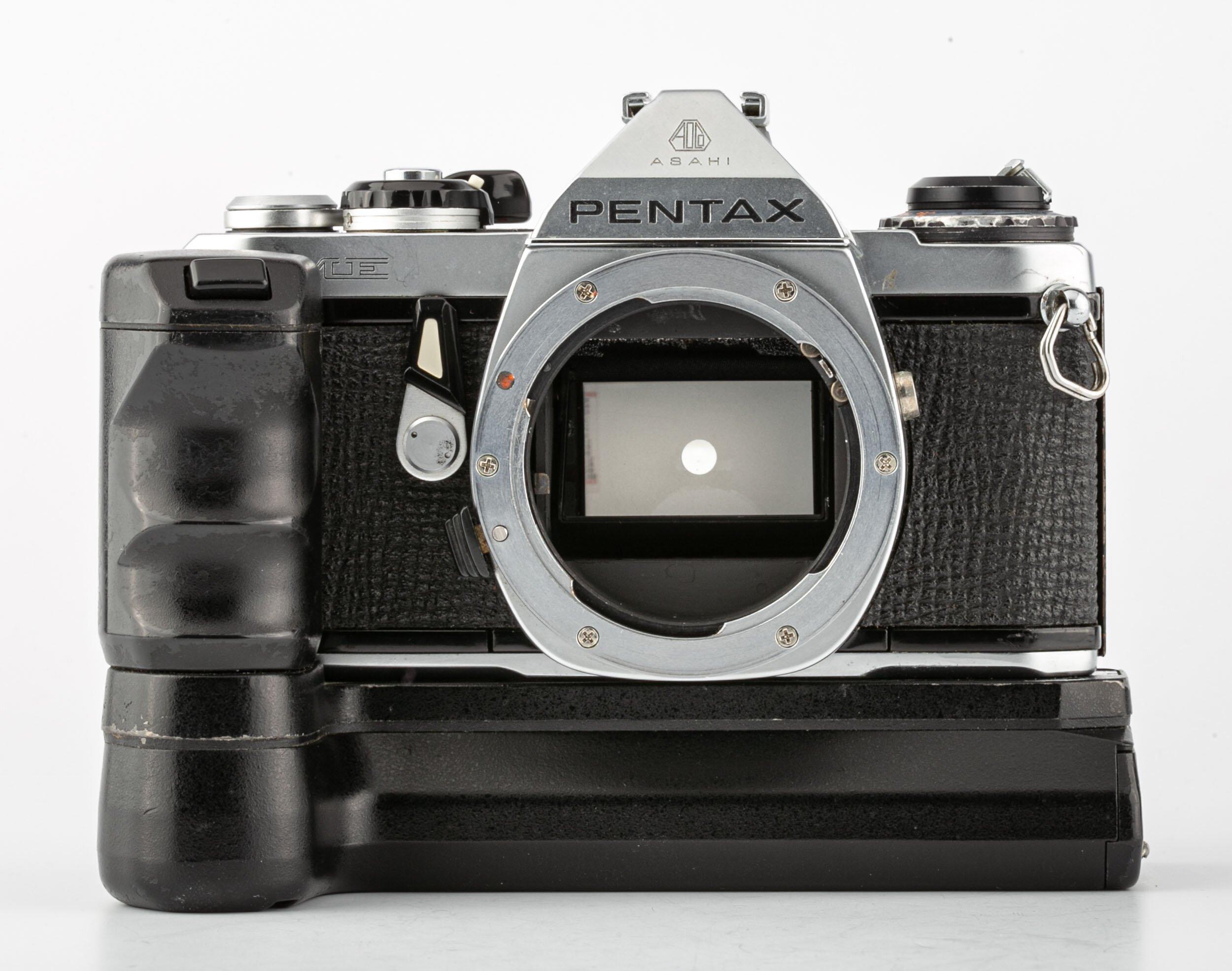 Pentax ME Body Winder Chrome