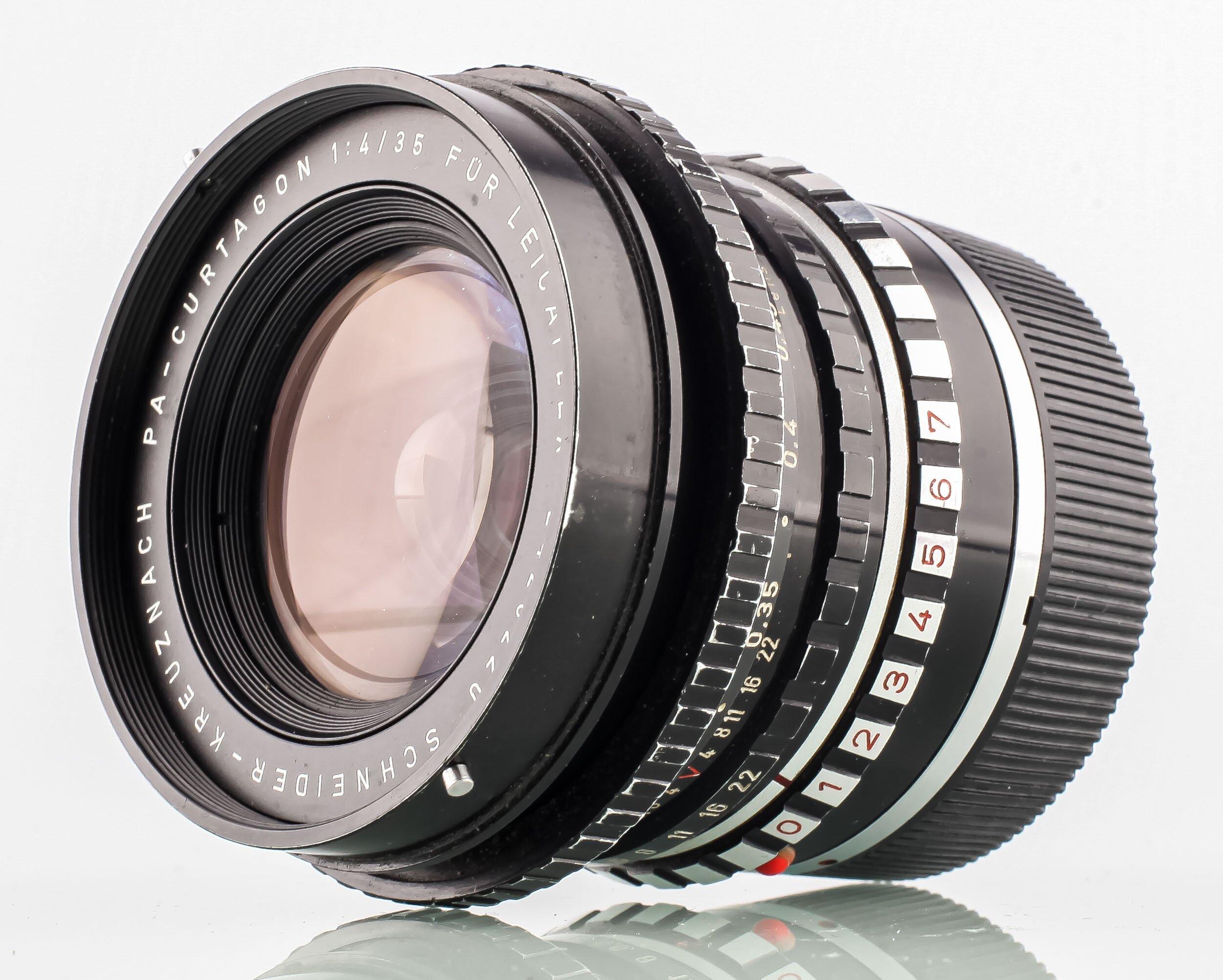 Schneider-Kreuznach PA-Curtagon 4/35mm for Leica R