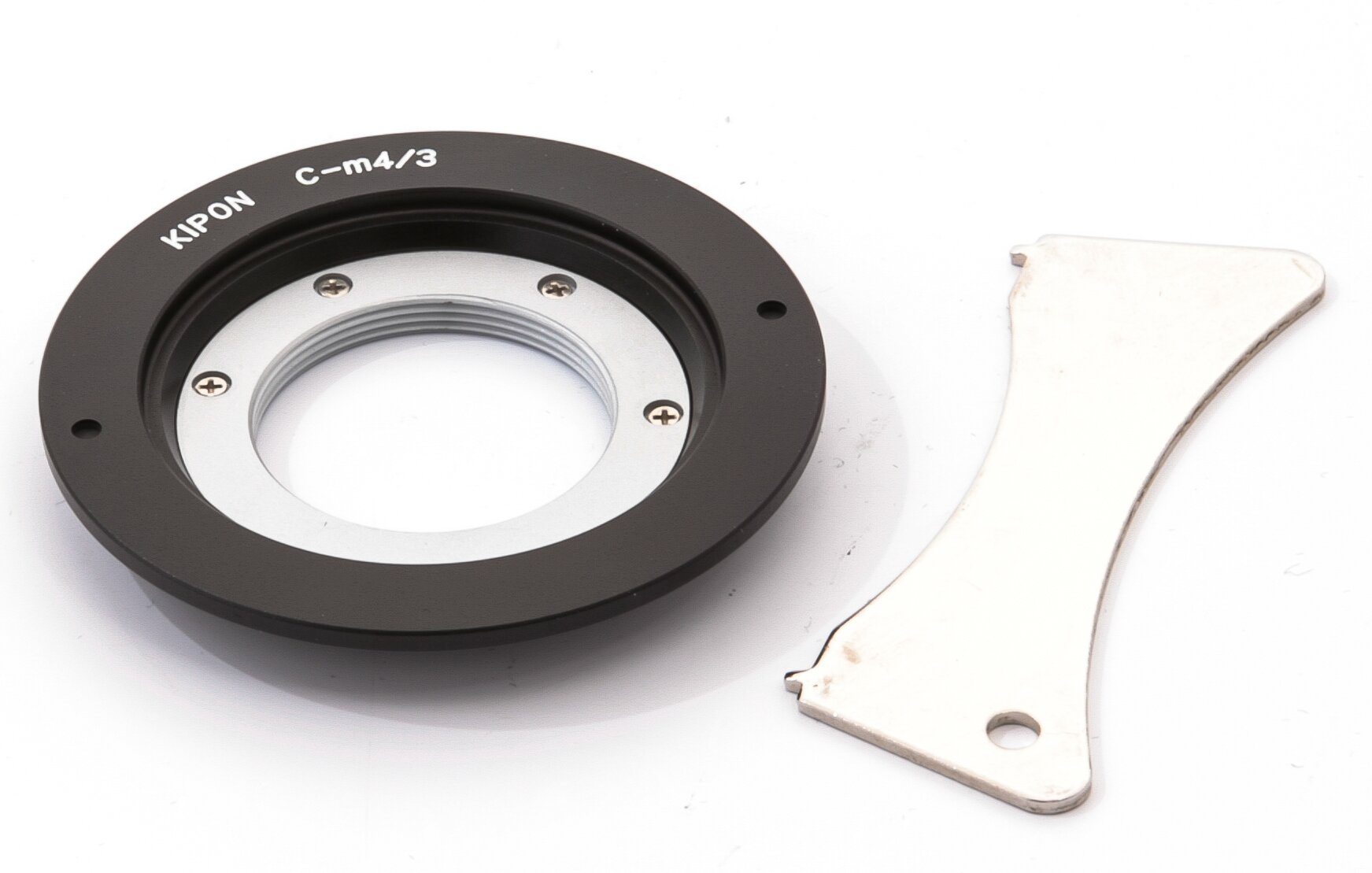 Adapter C-mount Objektive an Micro Fourthirds Gehäuse