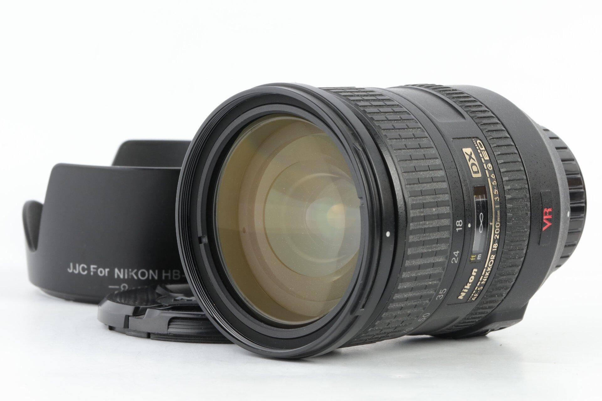 Nikon AF-S 18-200mm 3,5-5,6 G ED DX VR Nikkor