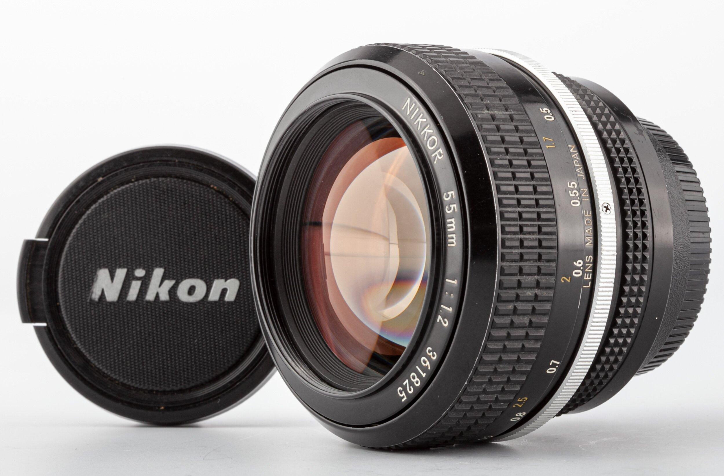 Nikon non AI Nikkor 55mm 1,2
