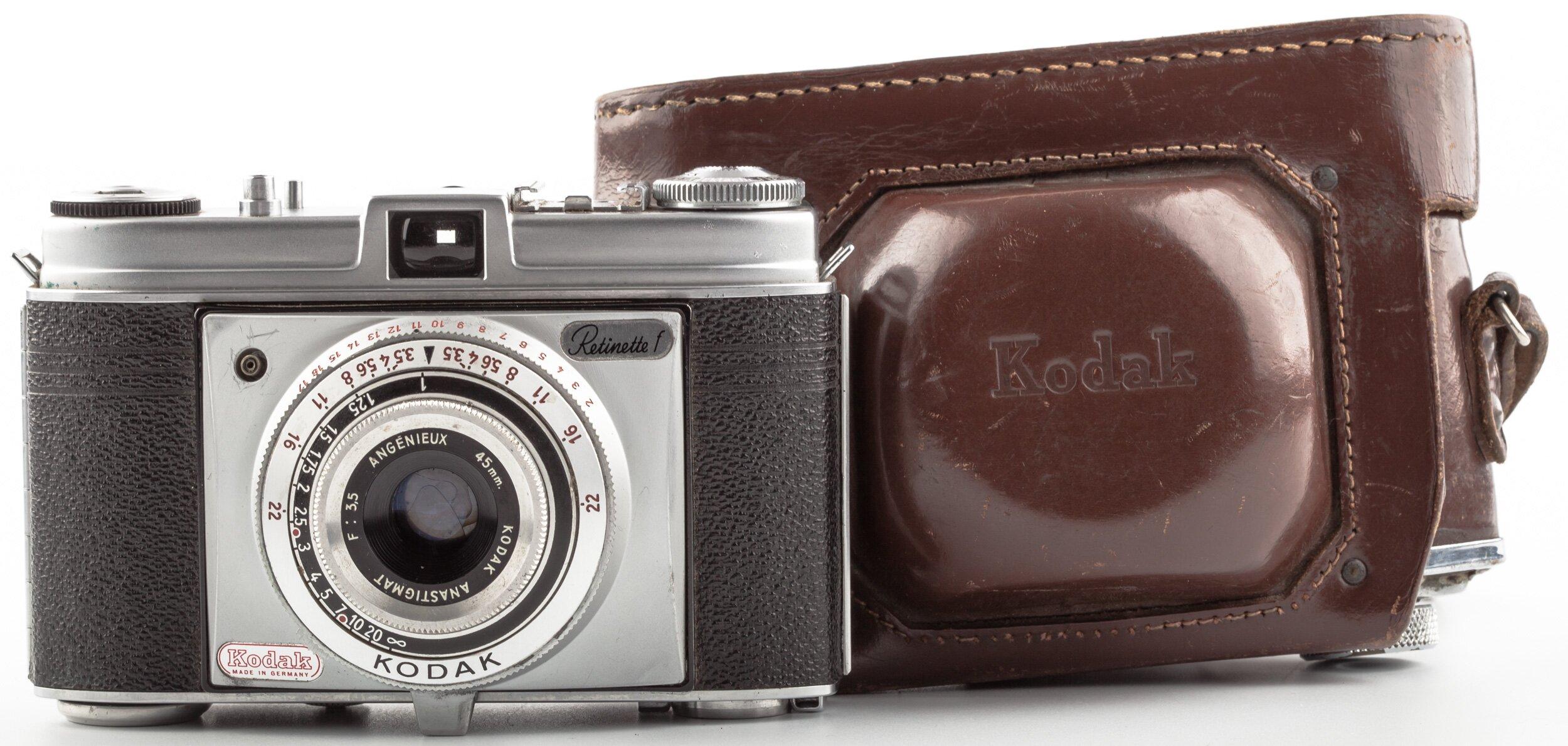 Kodak Retinette F mit  Angenieux Anastigmat 3,5/45mm