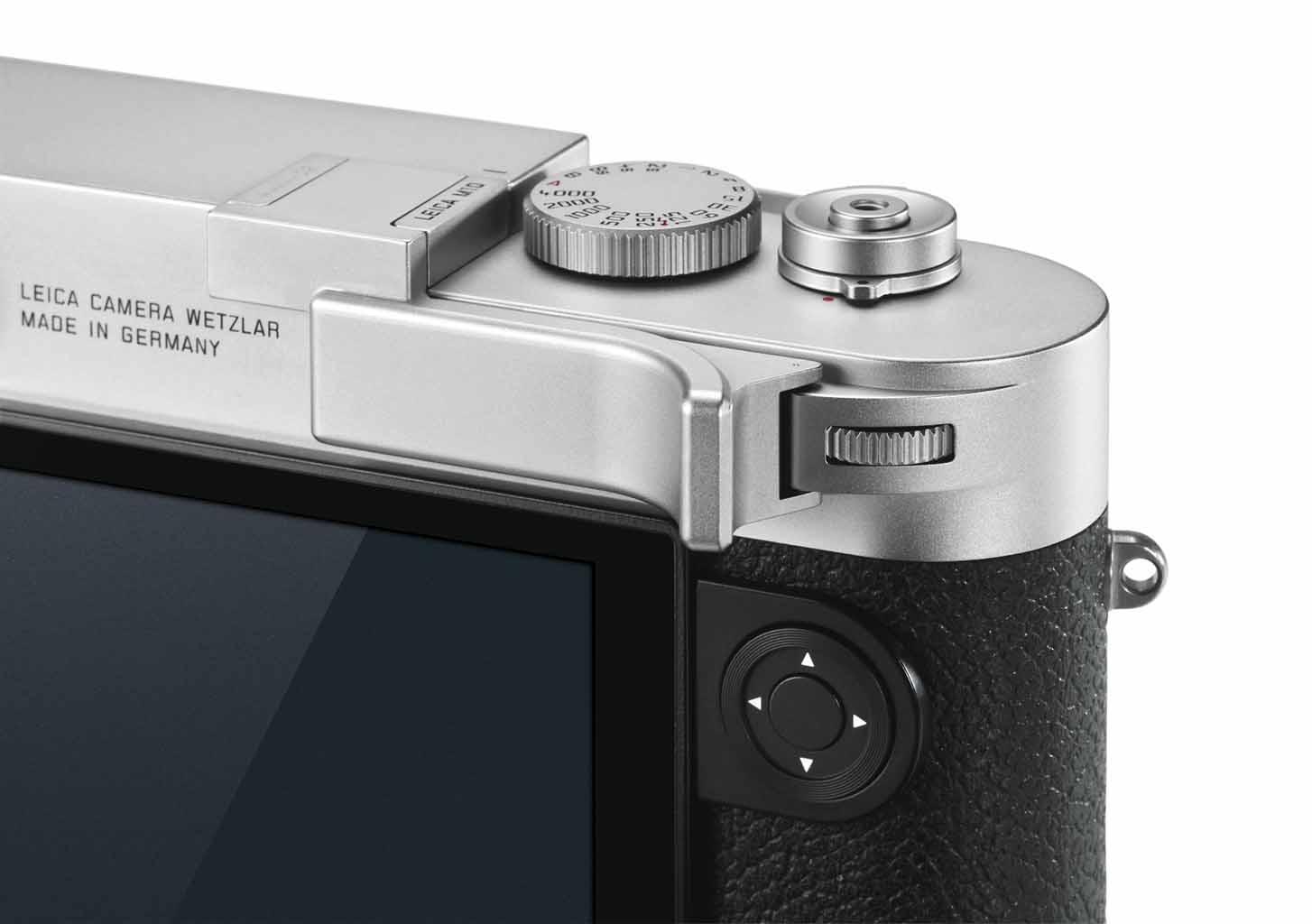 Leica Daumenstütze M10, silbern 24015