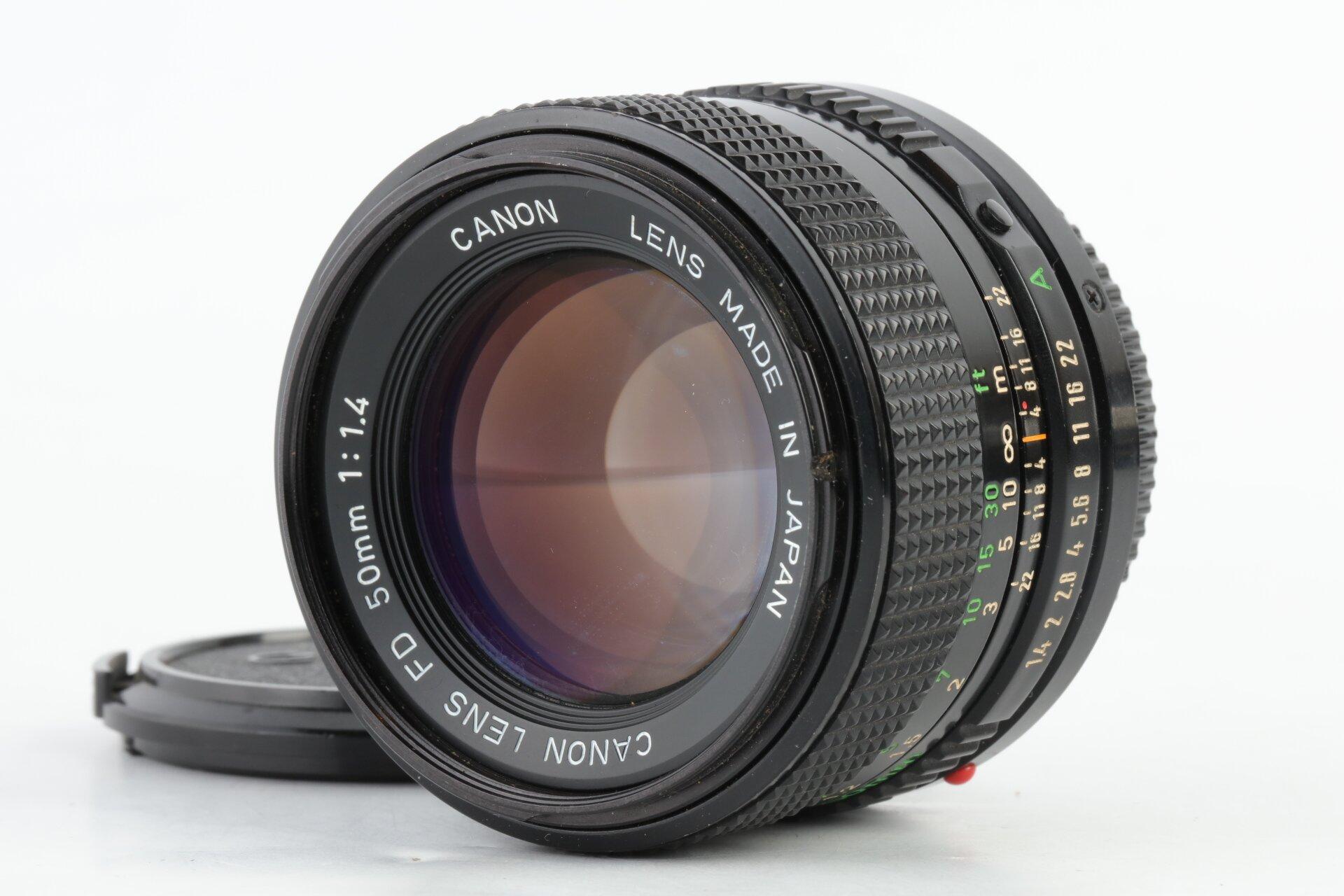 Canon FD 50mm 1,4