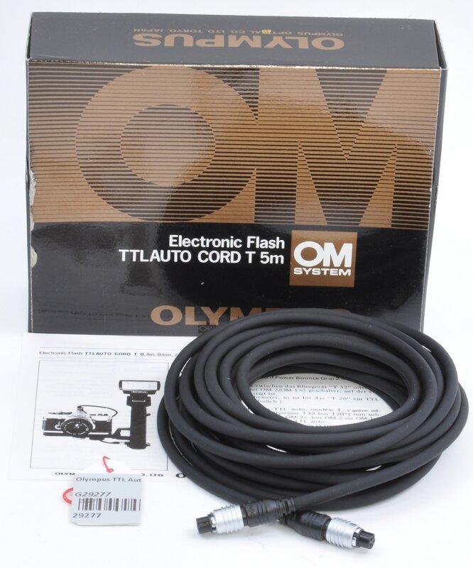 Olympus TTL Auto Cord T 5m