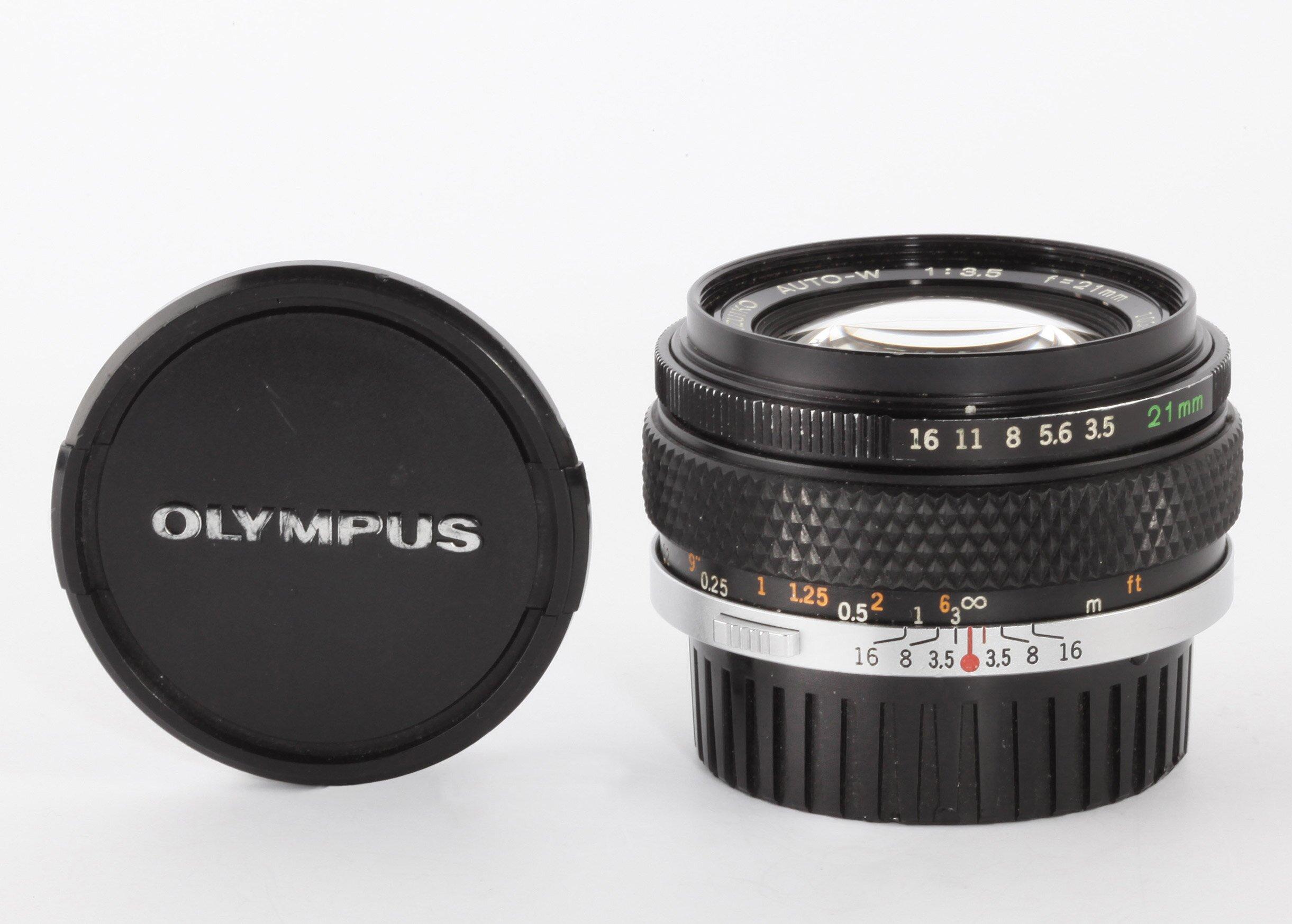Olympus OM 21mm 3,5