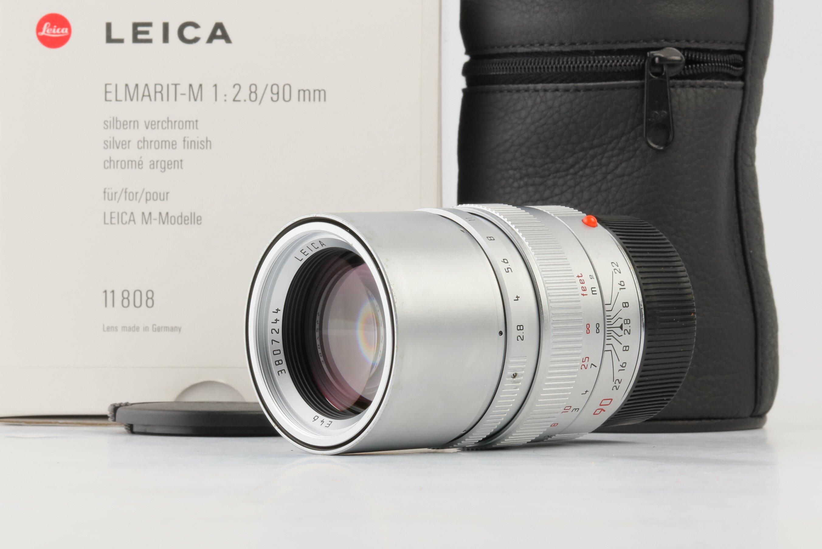 Leica M 2,8/90mm Elmarit-M silber 11808