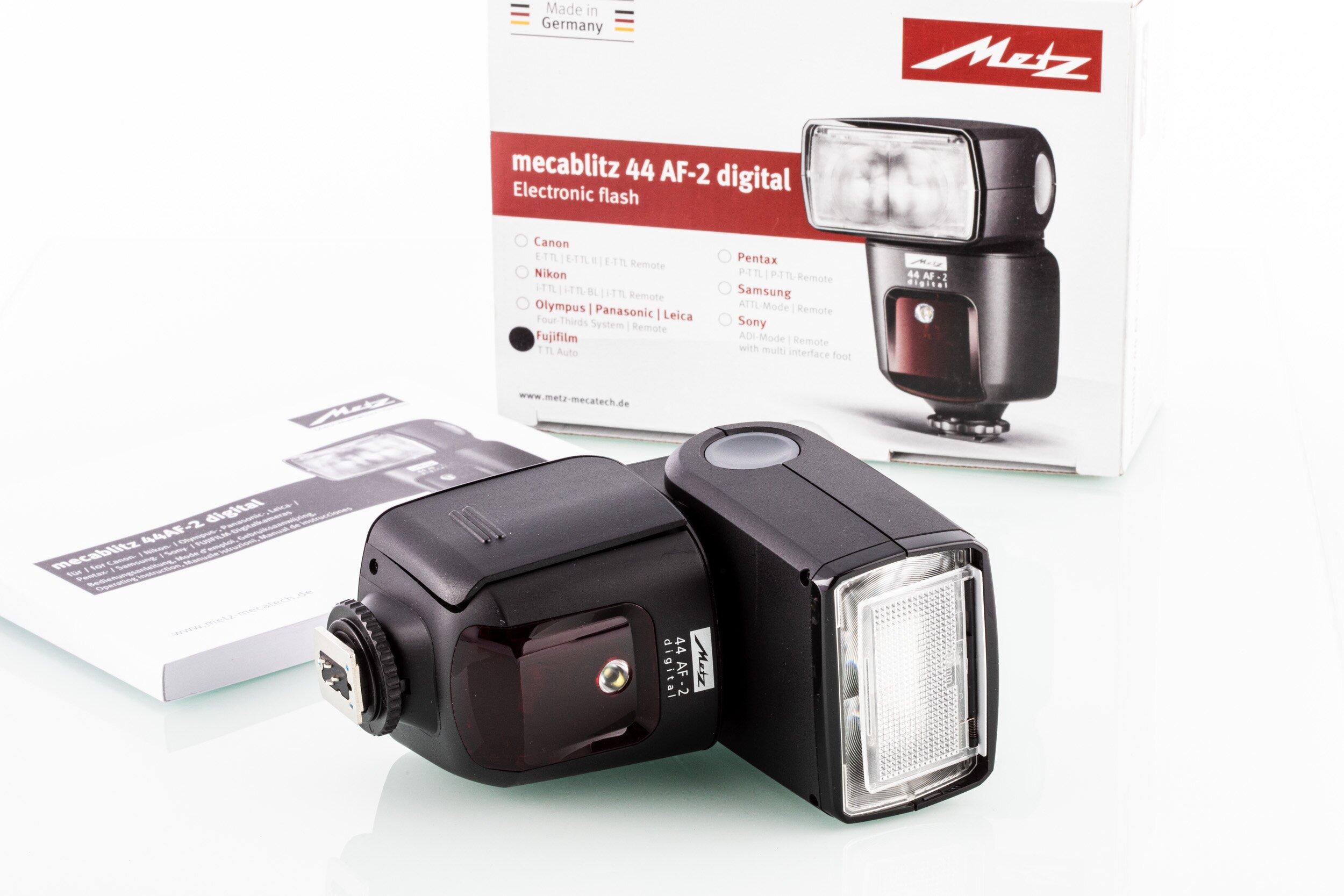 Metz mecablitz 44 AF2 Fujifilm X