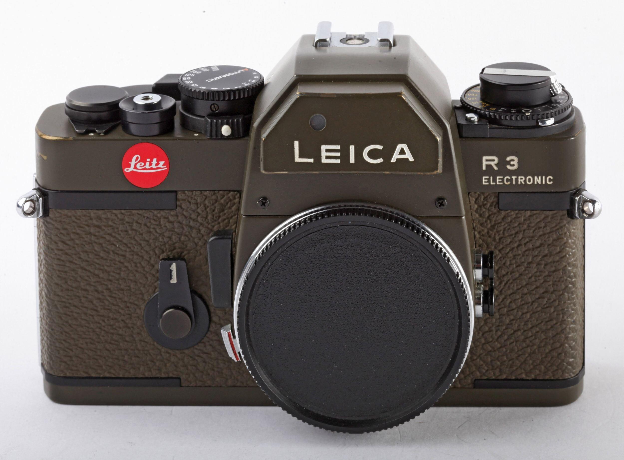 Leicaflex R3 Elektronic Safari Edition