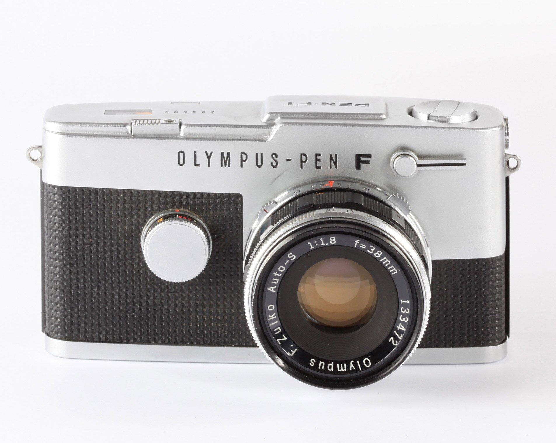 Olympus PEN FT F mit Auto-S 38mm F1.8