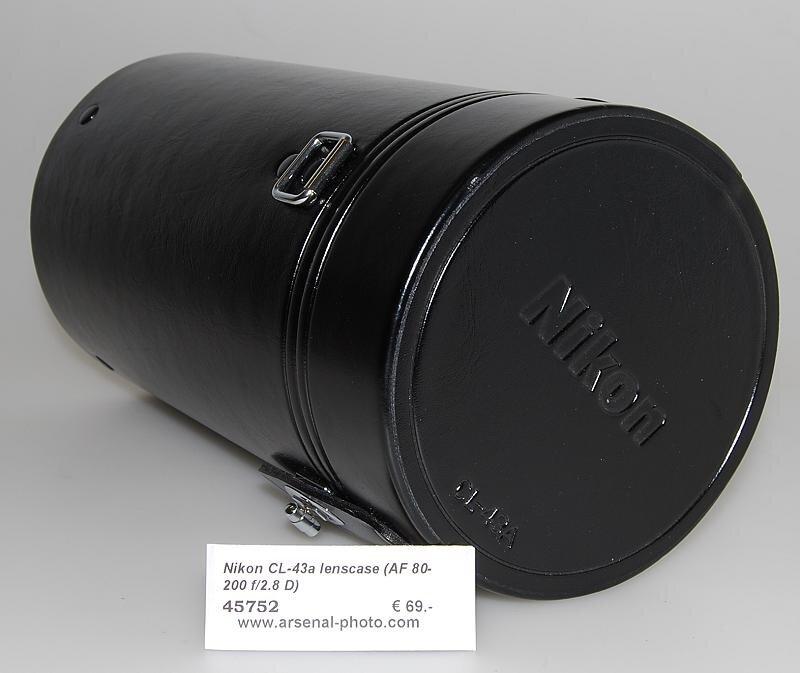 Nikon CL-43a lenscase (AF 80-200 f/2.8 D)