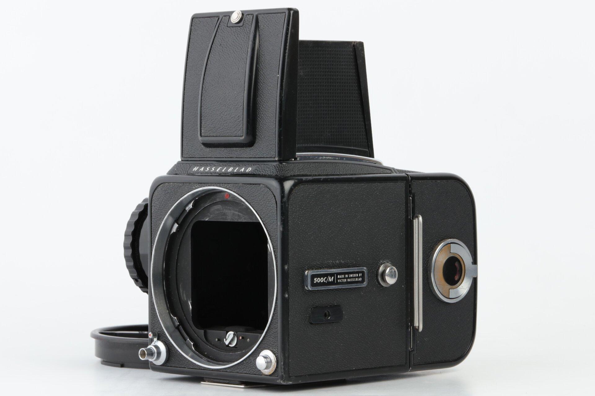 Hasselblad 500C Gehäuse schwarz mit A12 Magazin
