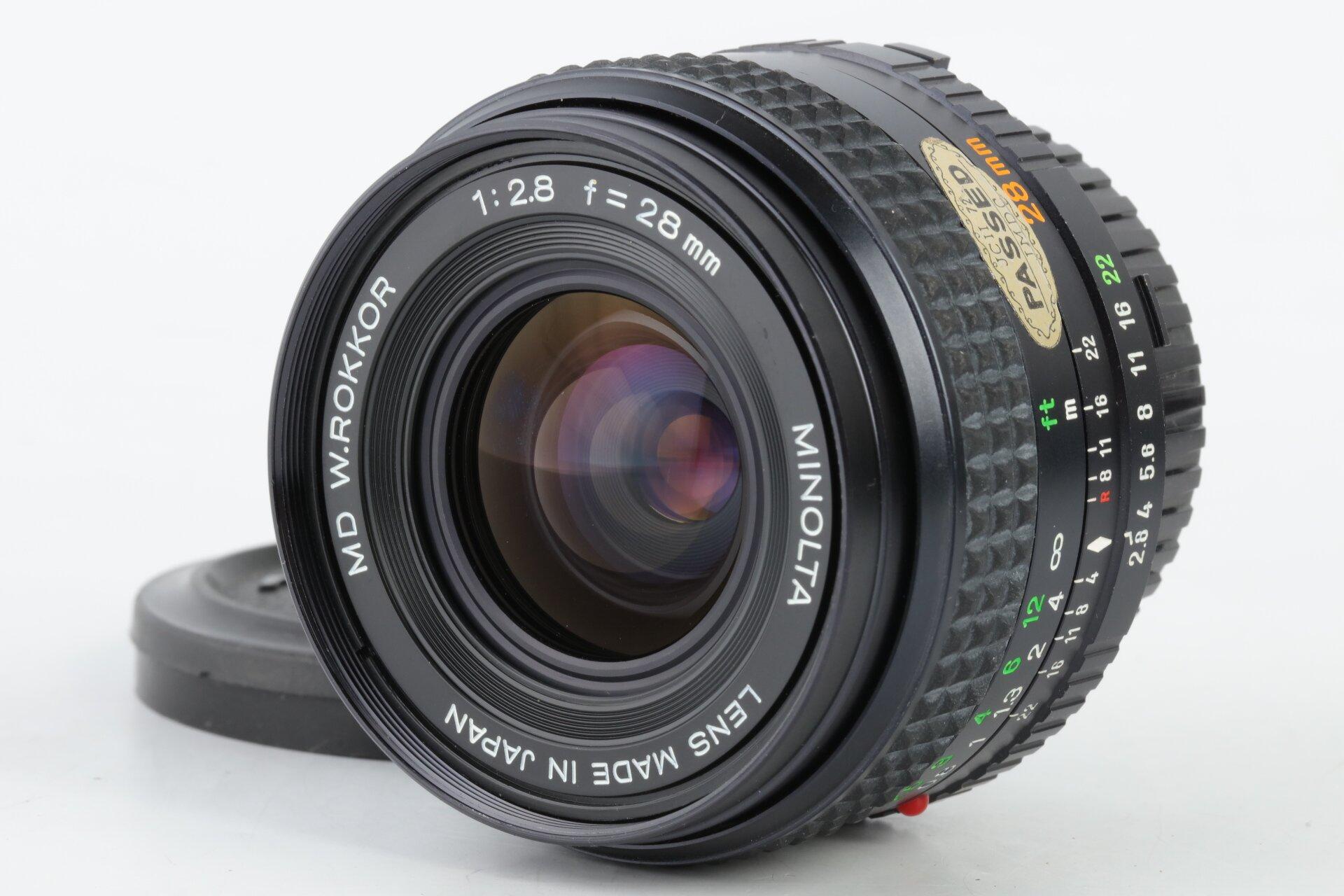 Minolta MD W.Rokkor 2,8/28mm