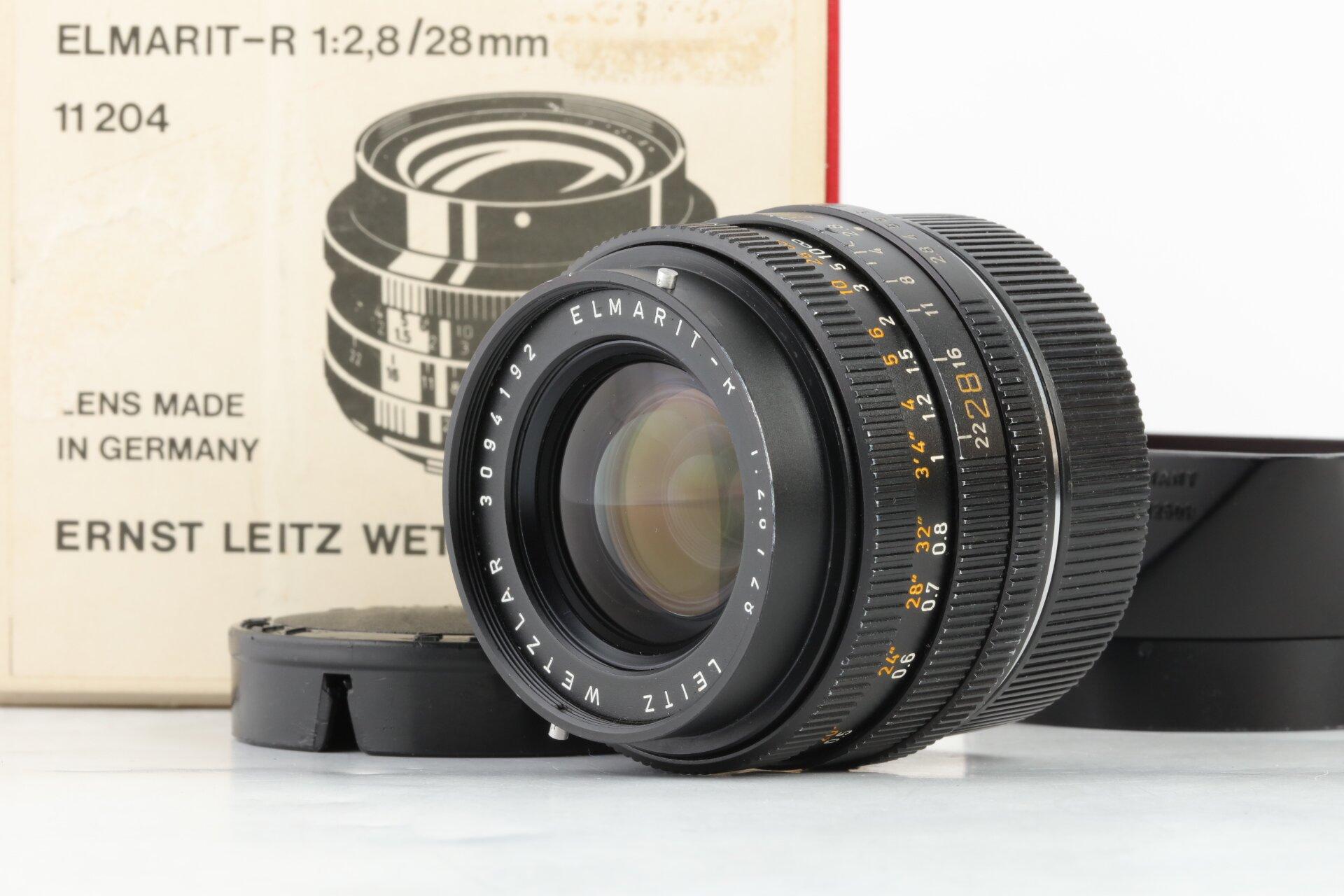 Leica R Elmarit-R 2,8/28mm 3CAM