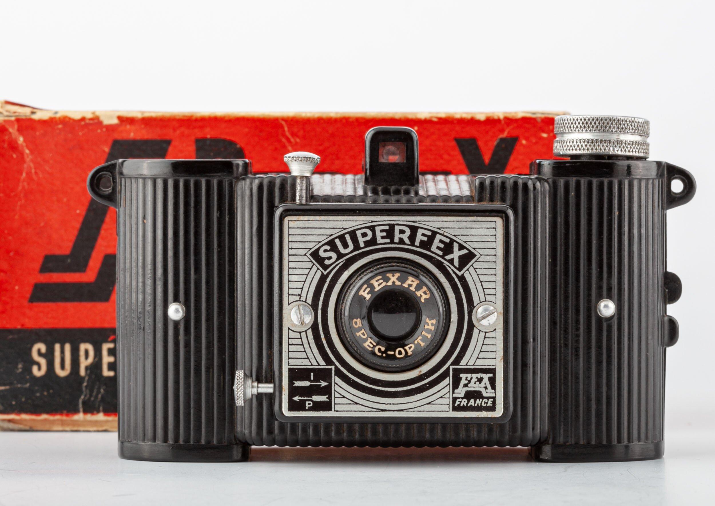 Superflex Box 4x6,5cm mit FEXAR Spec-OPTIK