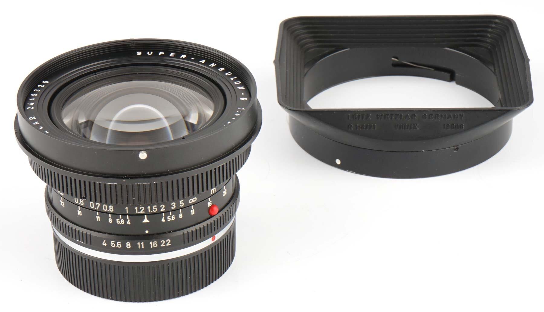 Leica Super-Angulon R 4/21mm ROM