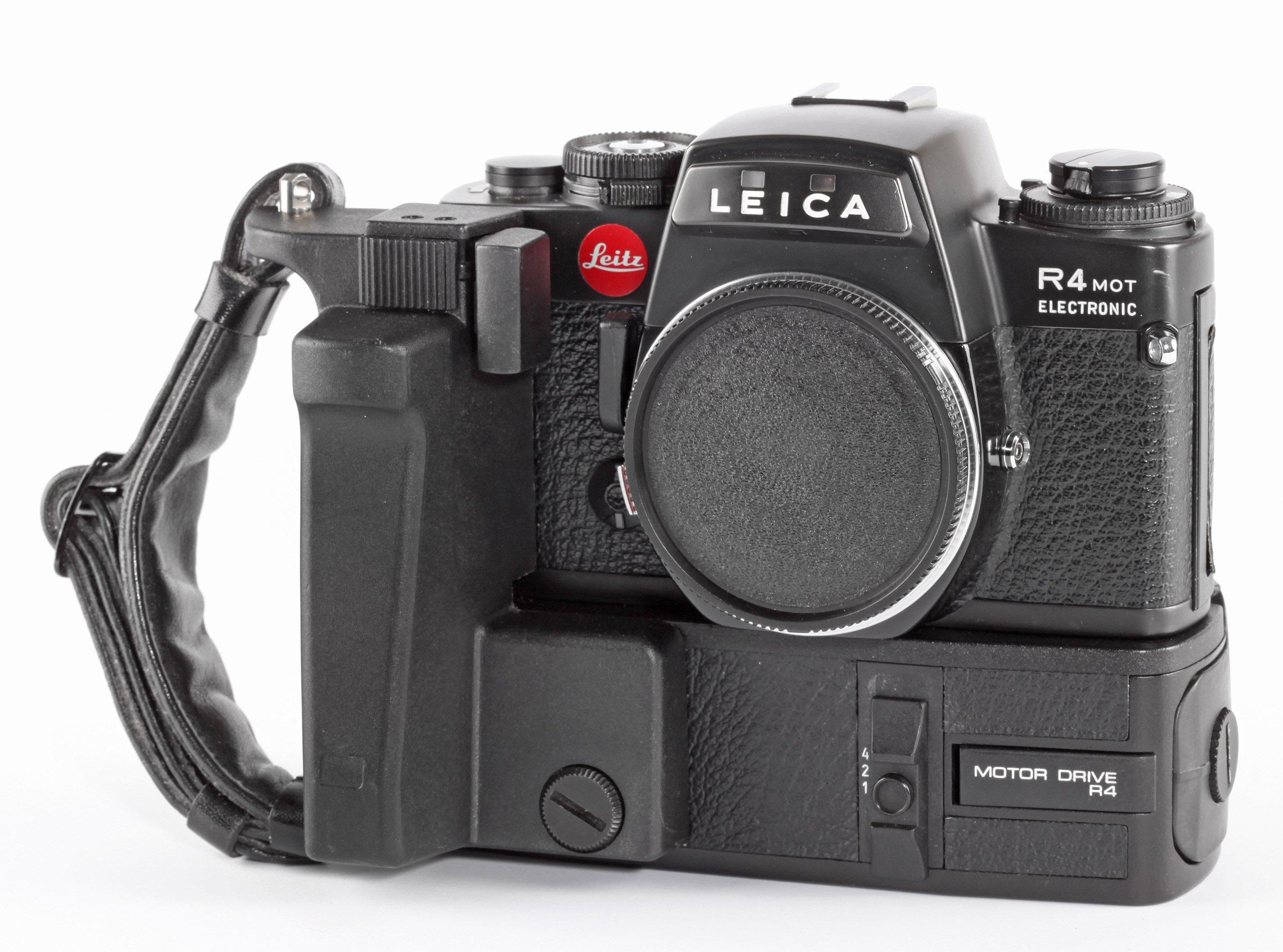 Leica R4 Mot Electronic Motor Drive R4