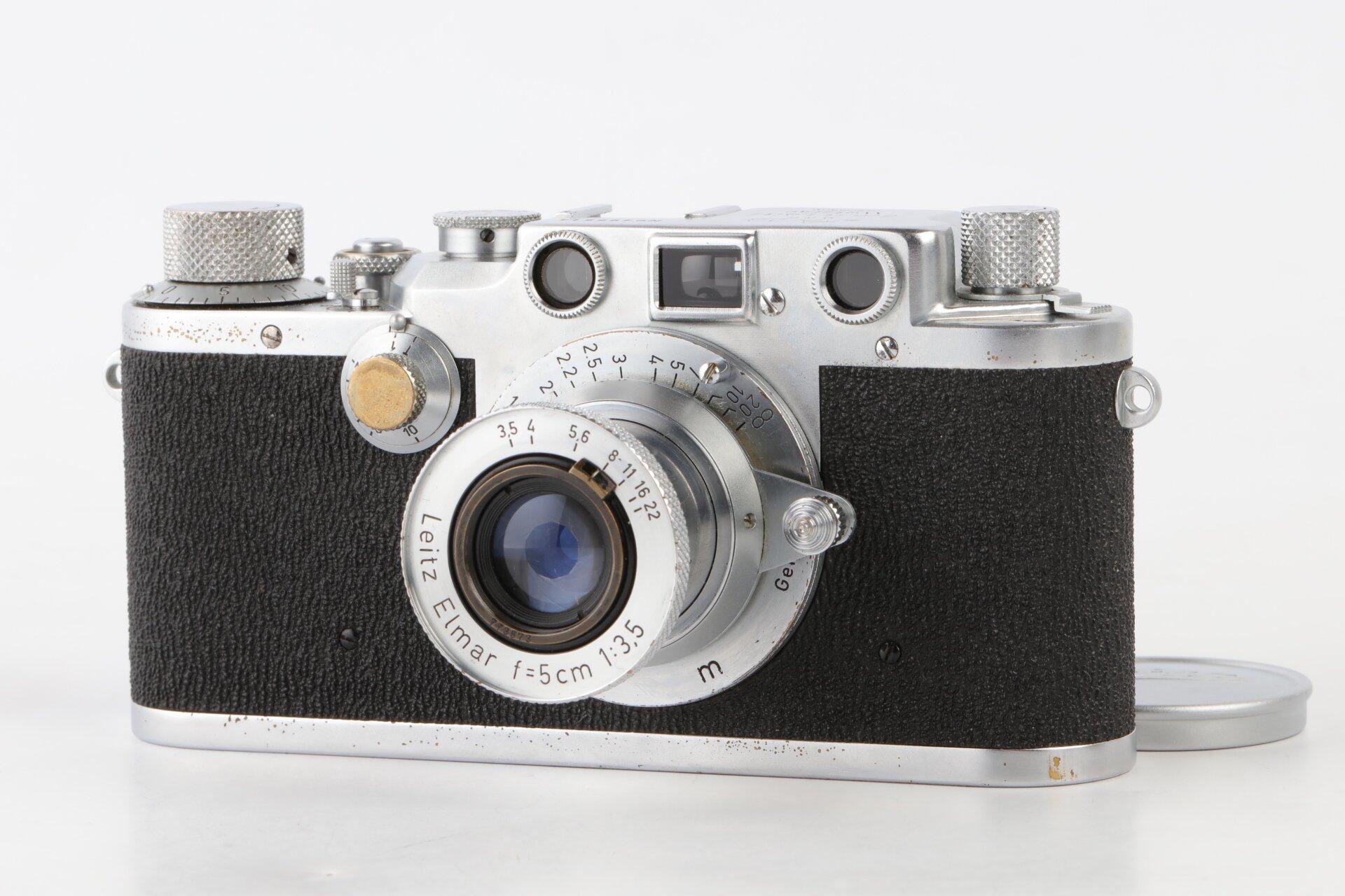 Leica IIIc chrom Leitz Elmar 5cm 3,5