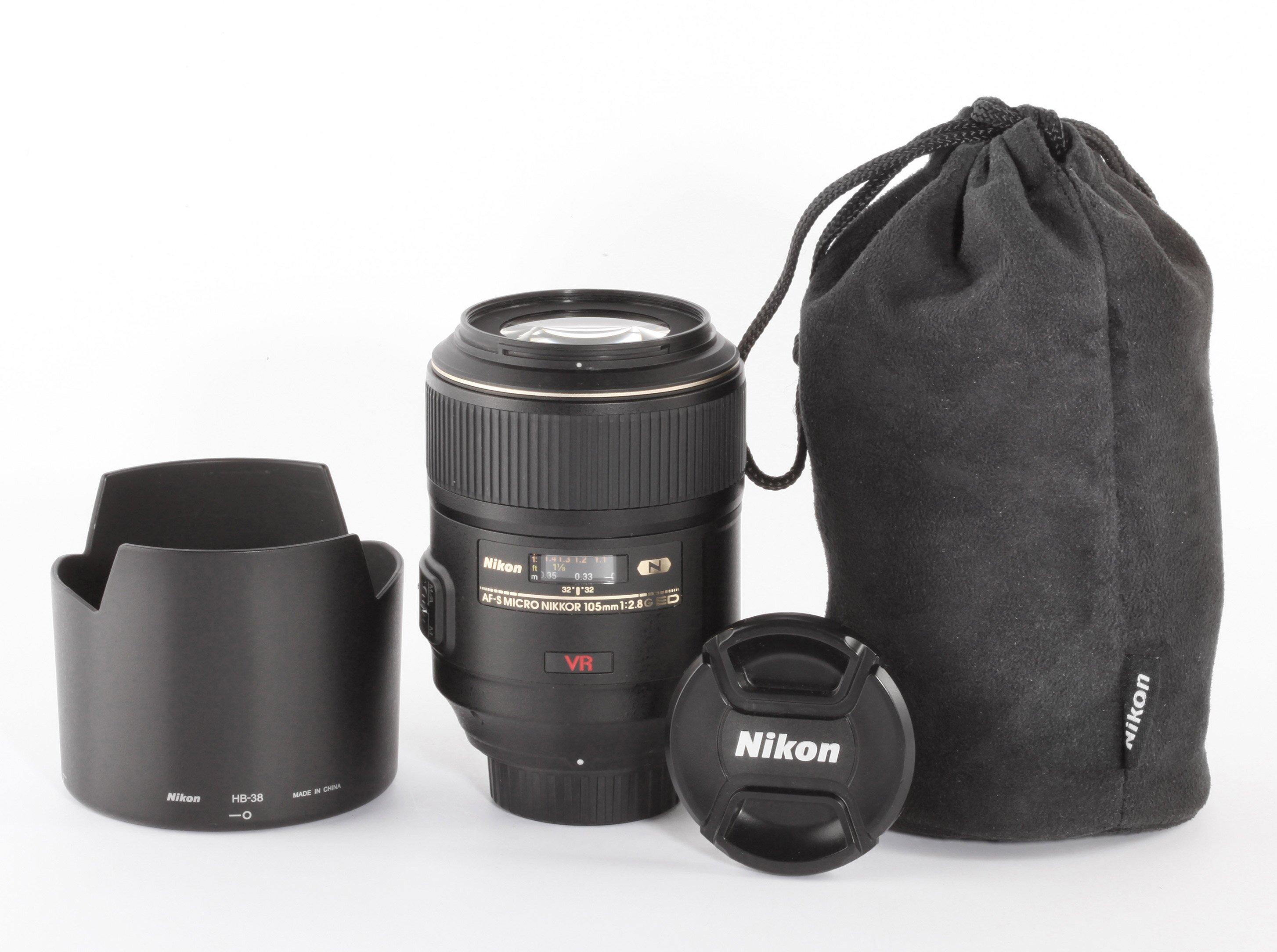 Nikon AF-S Micro Nikkor 105mm 2,8 ED VR
