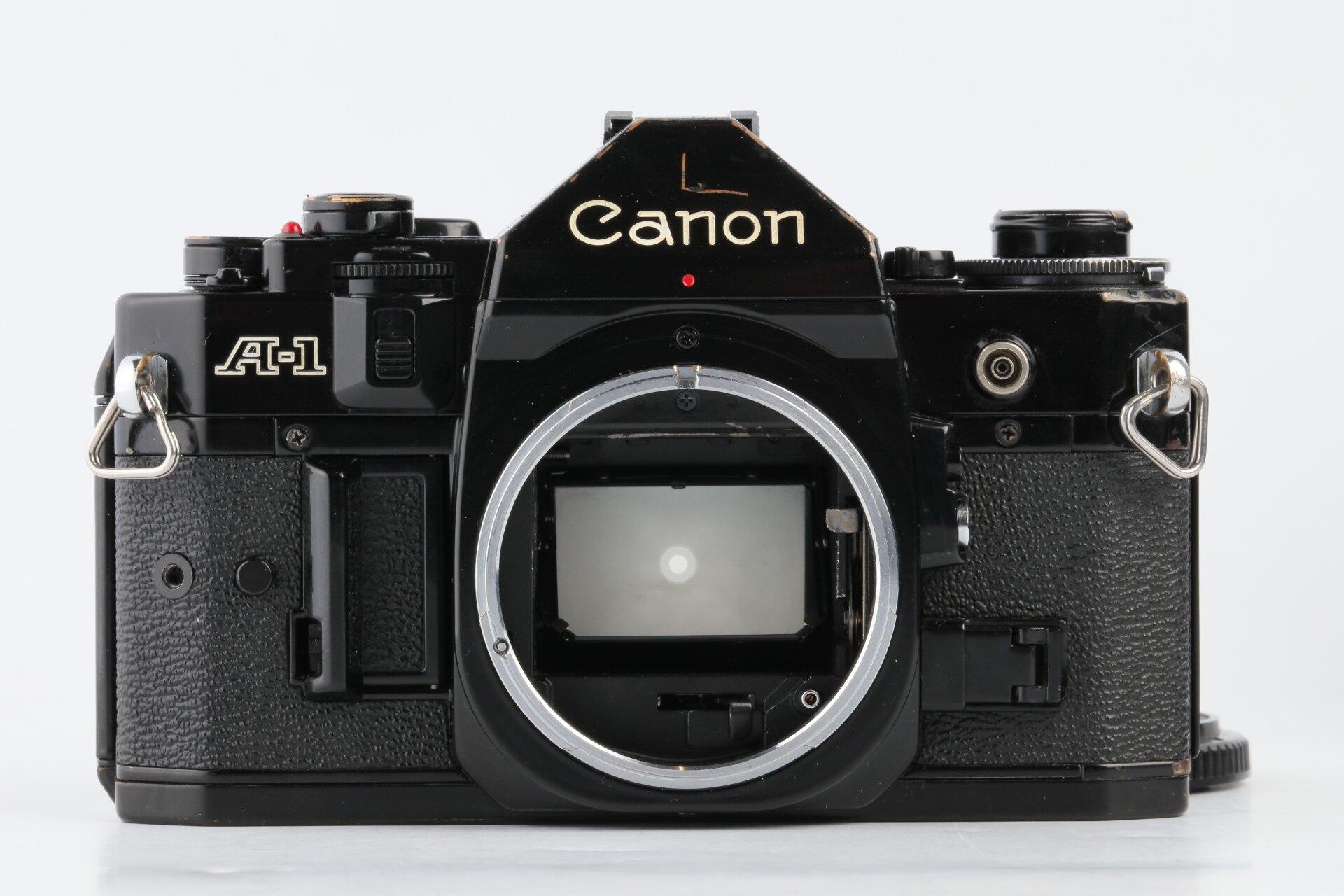 Canon A-1 schwarz Gehäuse