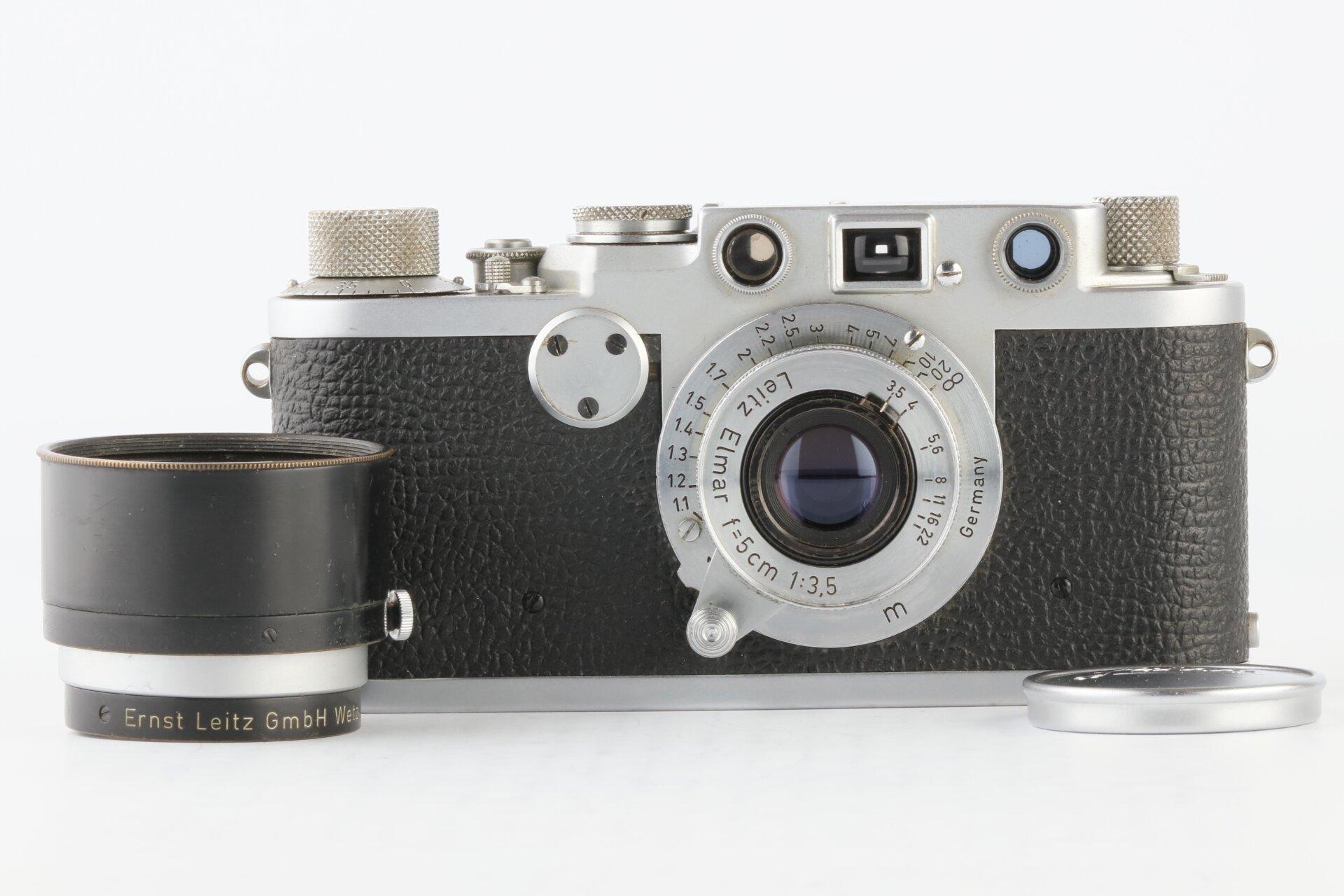 Leica IIf chrom + Leitz Elmar 5cm 3,5