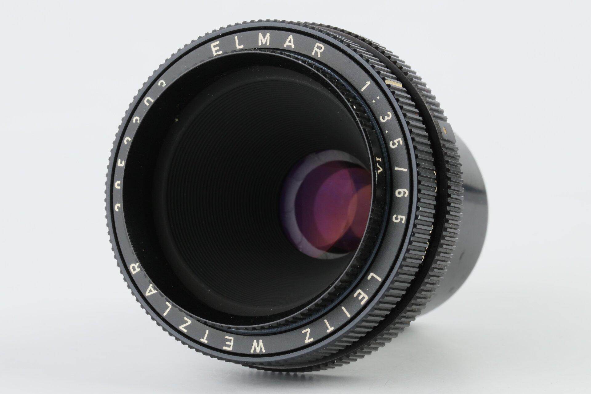 LEITZ Elmar-V 3,5/65mm schwarz 11162 Leica