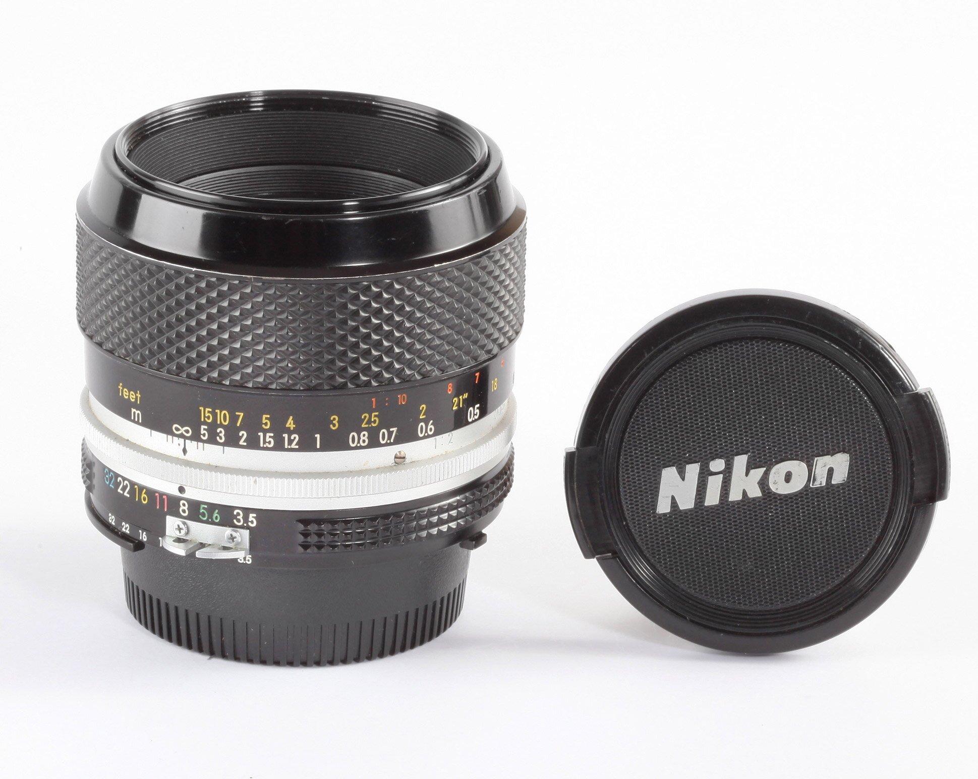 Nikon Micro-Nikkor-P Auto 3,5/55mm
