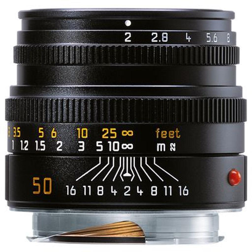 LEICA SUMMICRON-M 2/50 mm, schwarz eloxiert 11826