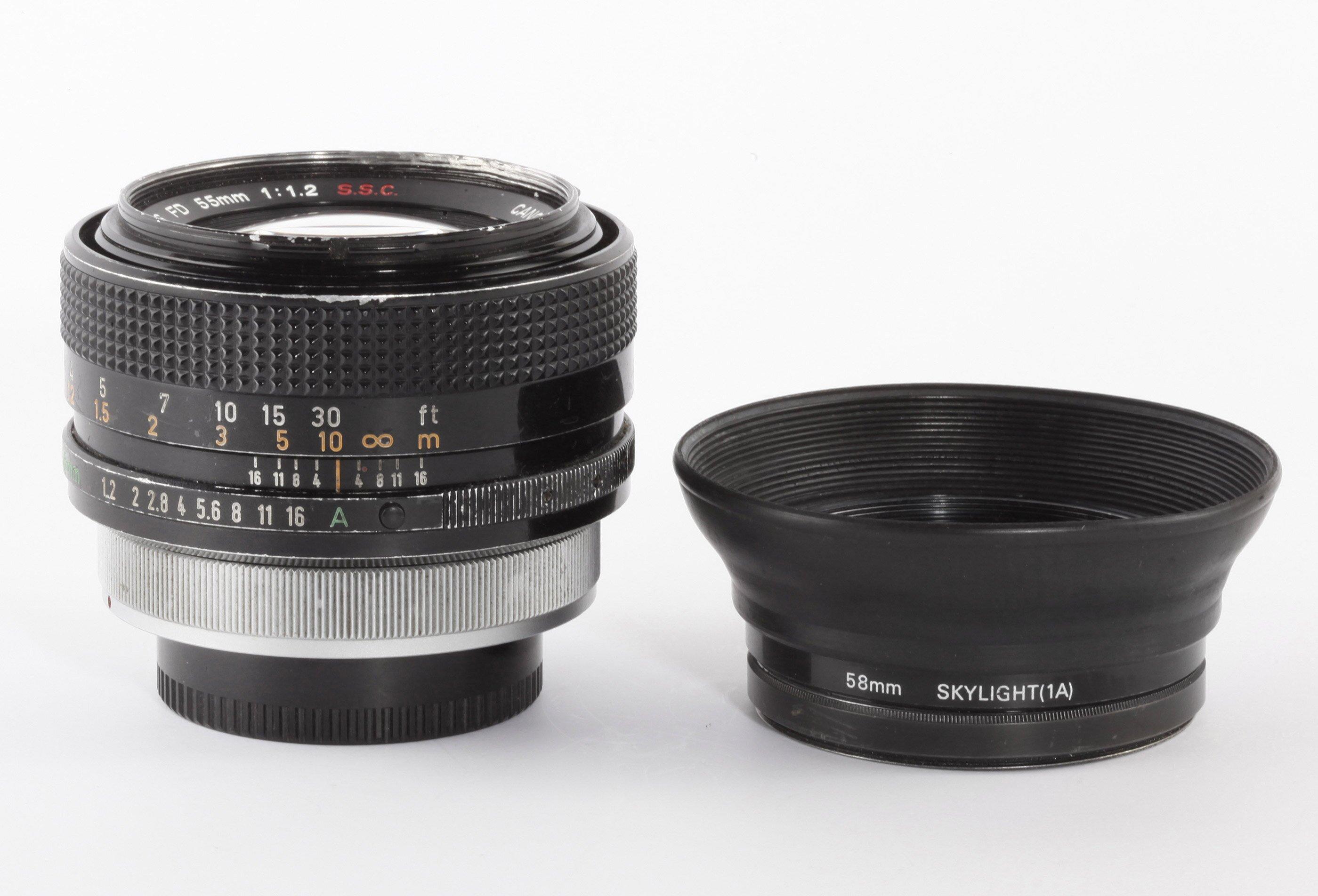 Canon FD 55mm/1,2 S.S.C