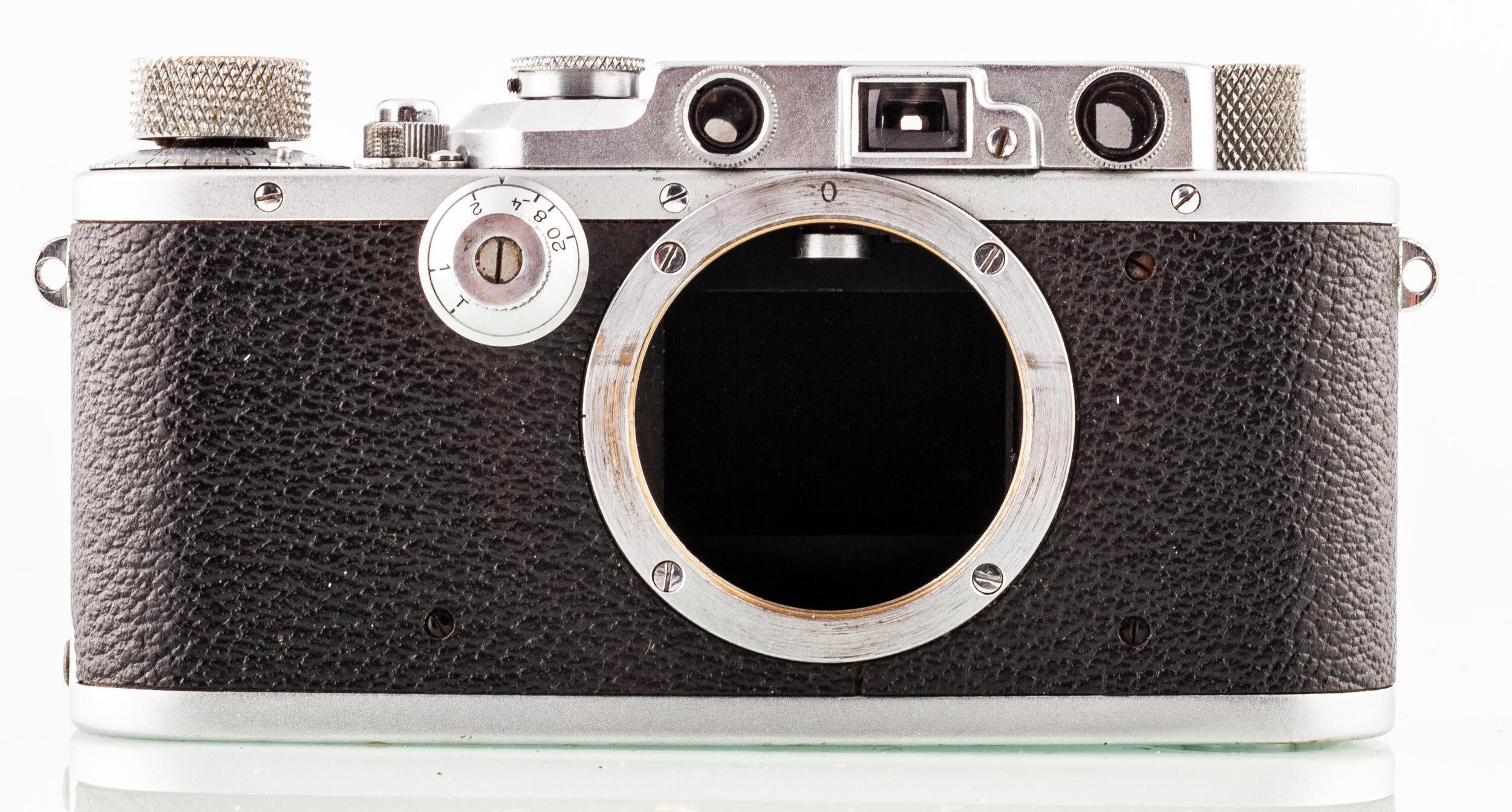 Leica III Gehäuse chrom
