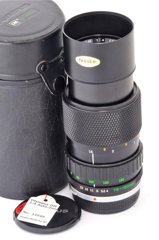 Olympus OM 75-150mm F4.0 Zuiko